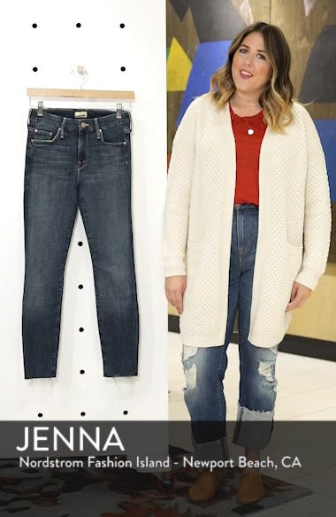 'TheLooker'Frayed Ankle Jeans, sales video thumbnail