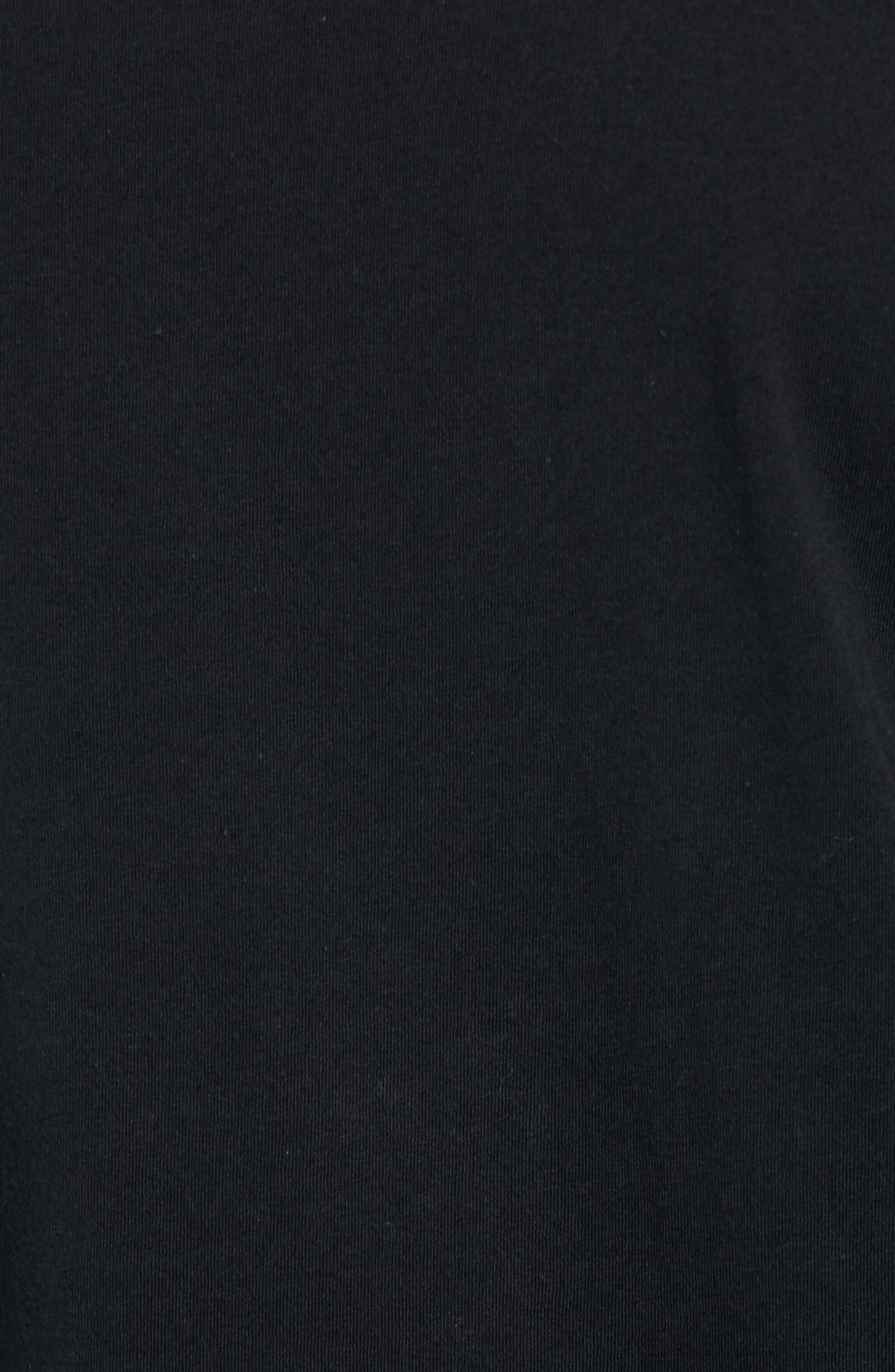 Brooklyn Banks Long Sleeve T-Shirt,                             Alternate thumbnail 5, color,                             BLACK