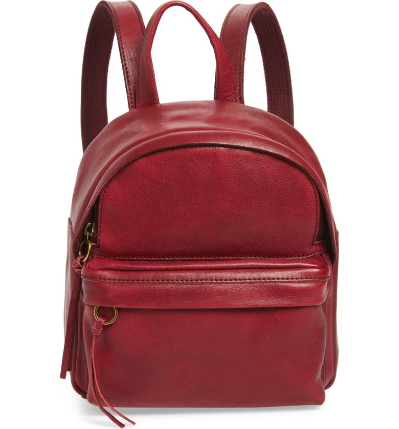 Mini Lorimer Leather Backpack