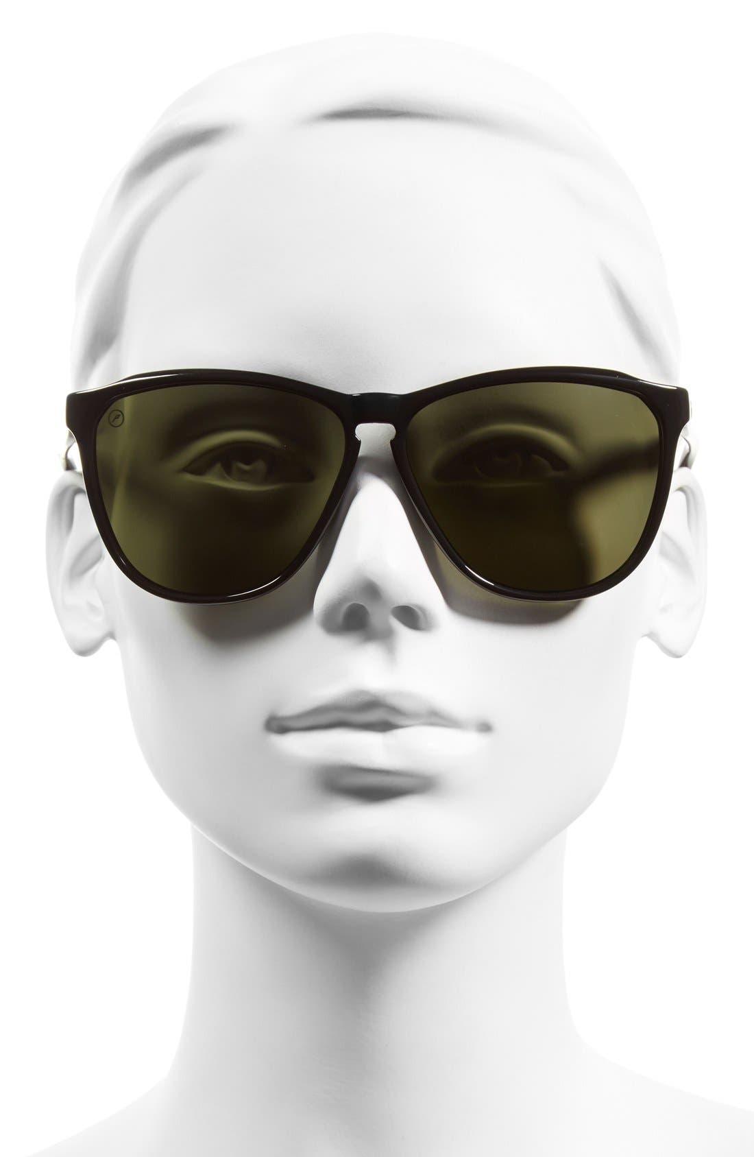 'Encelia' 62mm Polarized Sunglasses,                             Alternate thumbnail 2, color,                             001