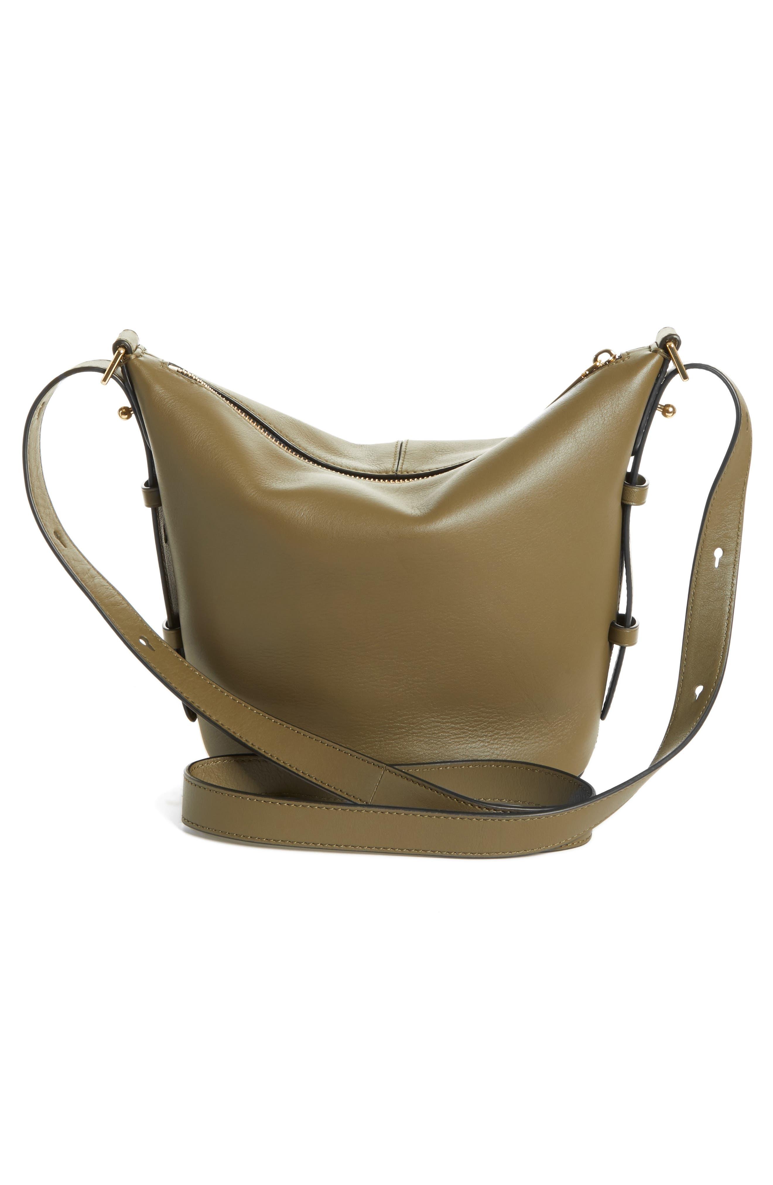 The Mini Sling Convertible Leather Hobo,                             Alternate thumbnail 18, color,