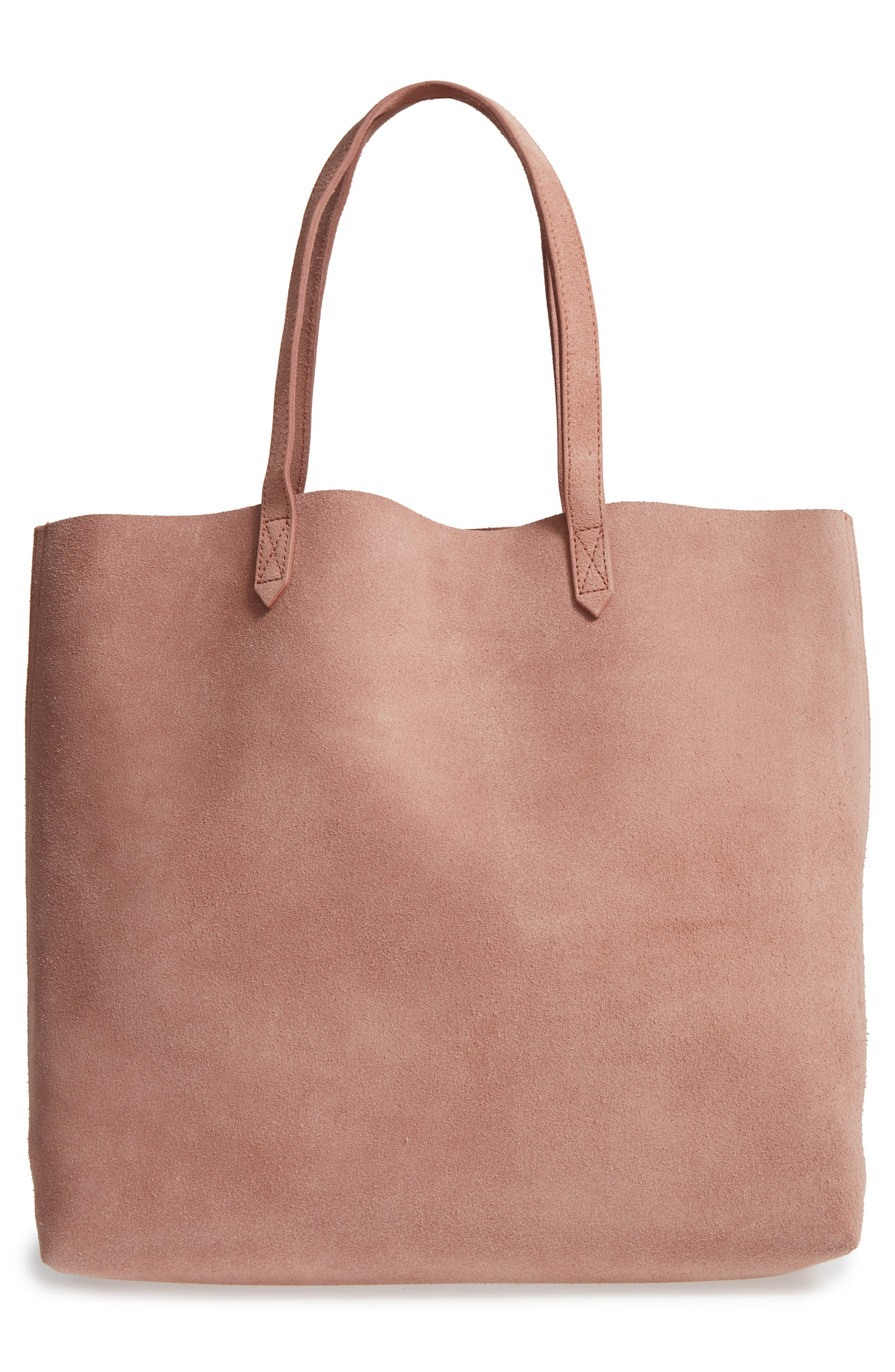 Suede Transport Tote,                             Alternate thumbnail 4, color,                             250