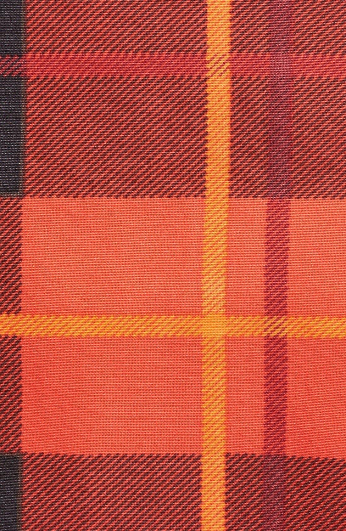 KATE SPADE NEW YORK,                             katespade new yorkwoodland plaid midi skirt,                             Alternate thumbnail 3, color,                             601