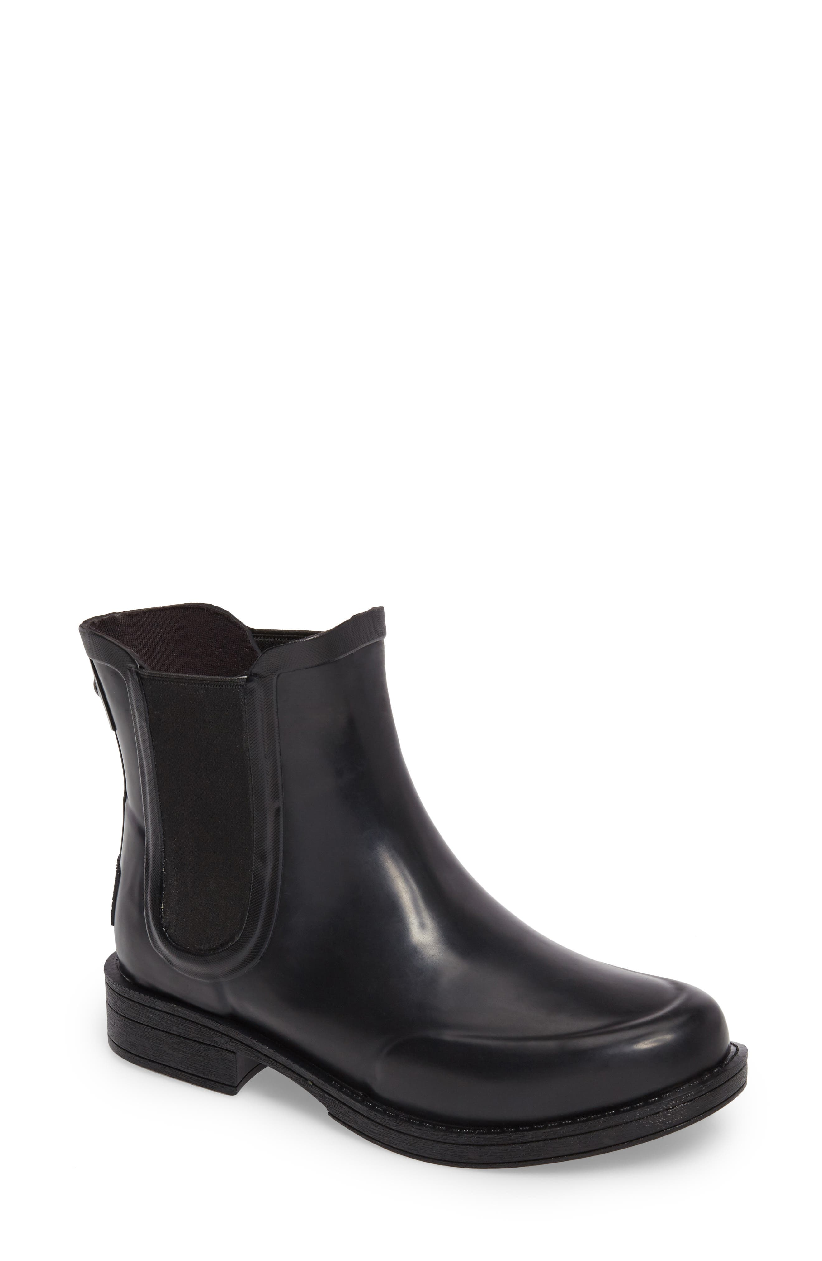 Aviana Chelsea Rain Boot,                             Main thumbnail 1, color,                             001