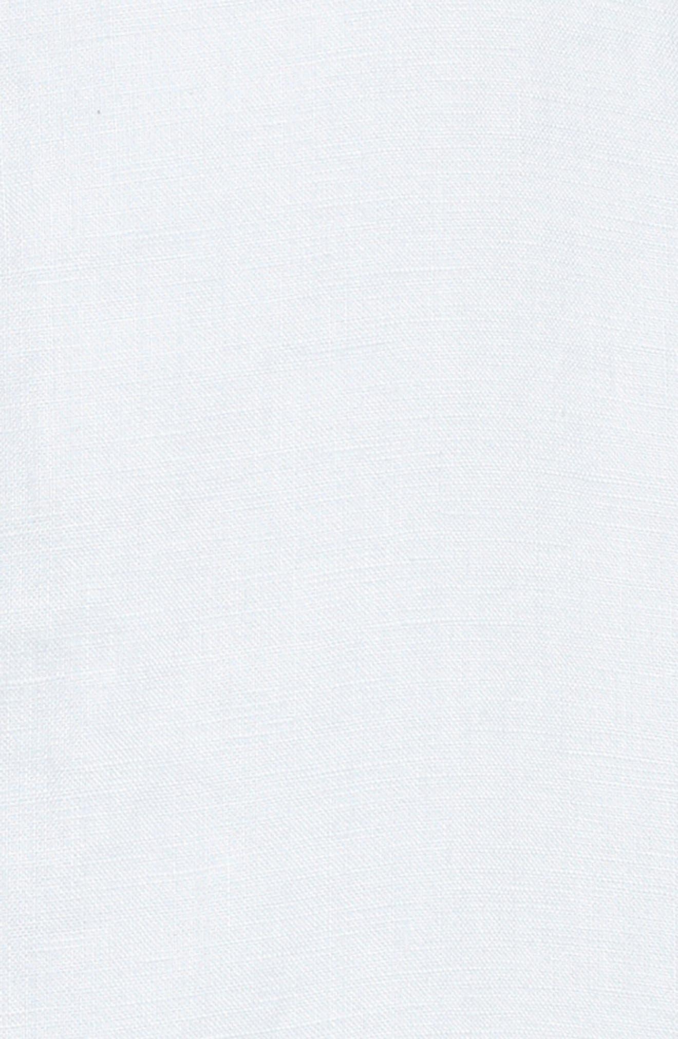 Drapey Linen Moto Jacket,                             Alternate thumbnail 5, color,                             050