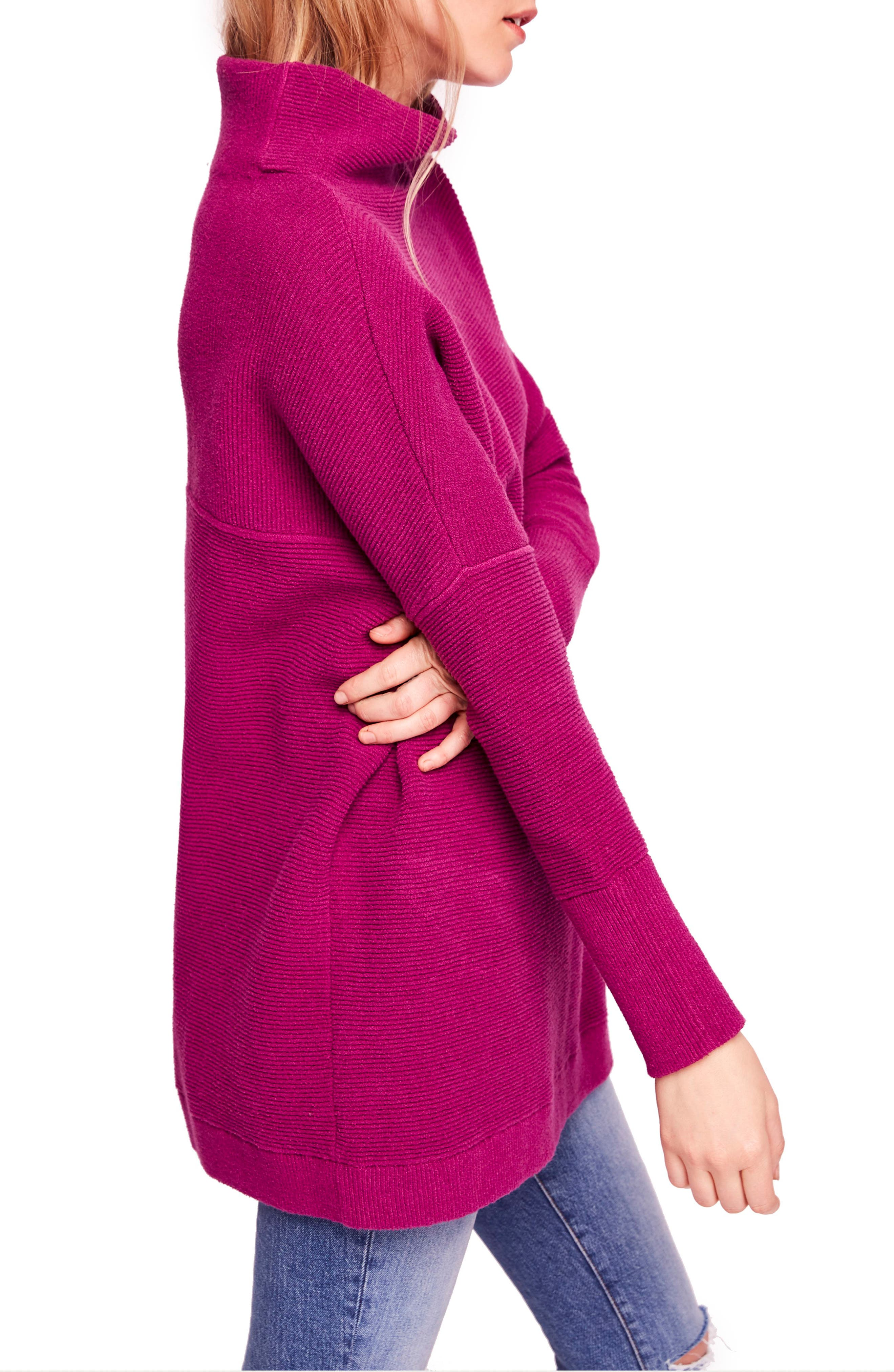 Ottoman Slouchy Tunic,                             Alternate thumbnail 3, color,                             931