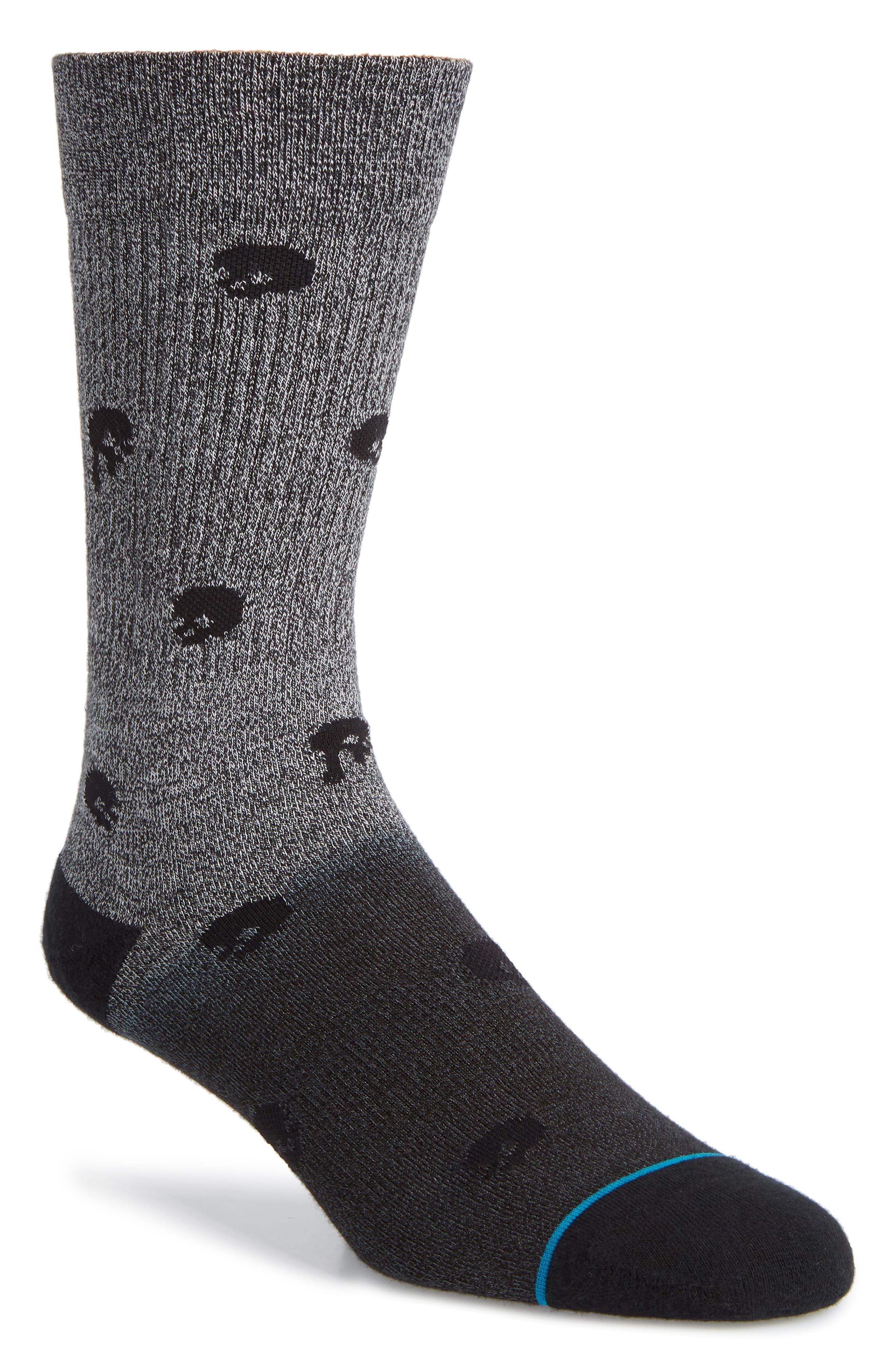 Polkanot Socks,                             Main thumbnail 1, color,                             BLACK