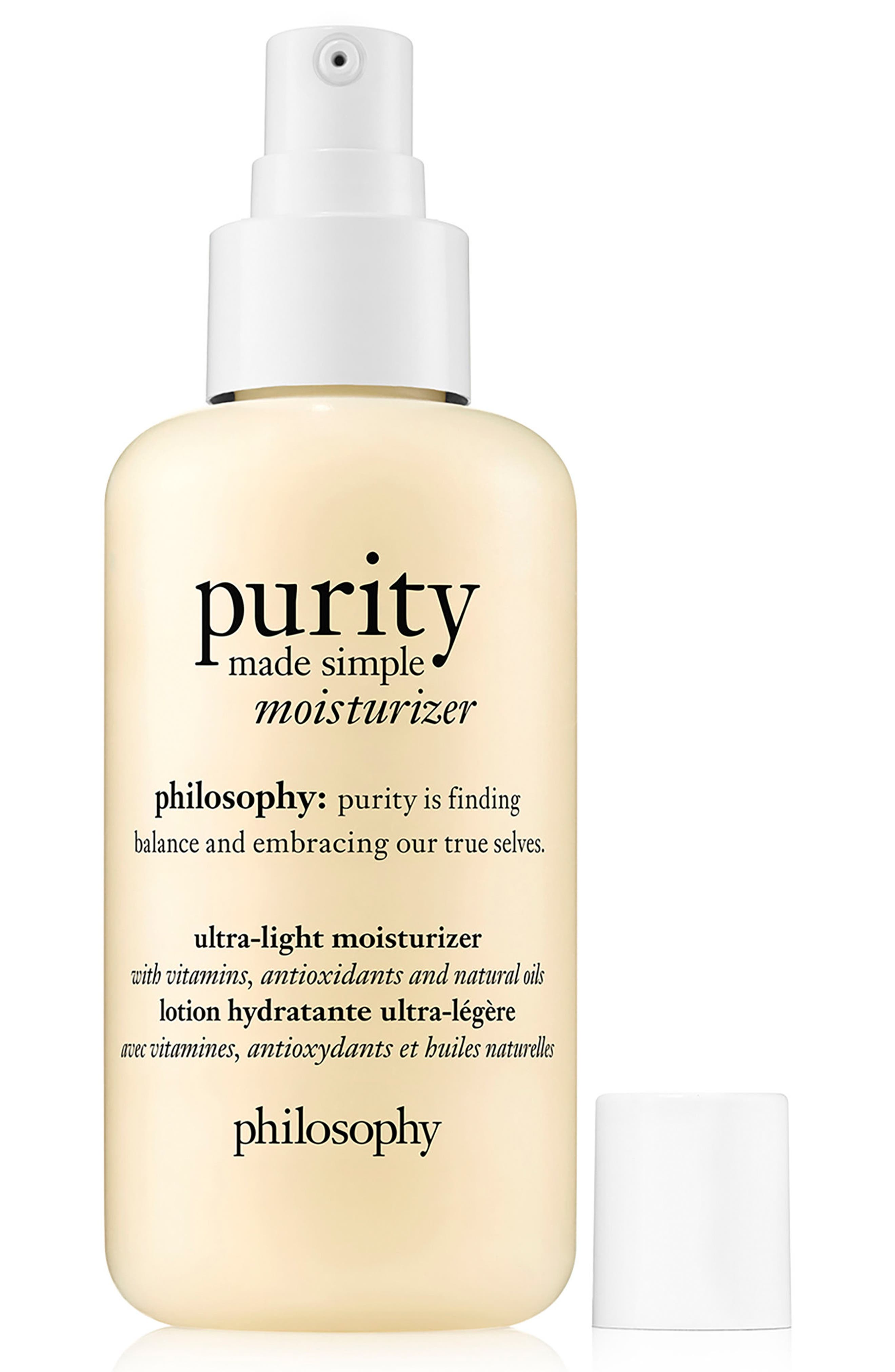 purity made simple ultra-light moisturizer,                             Alternate thumbnail 2, color,                             NO COLOR