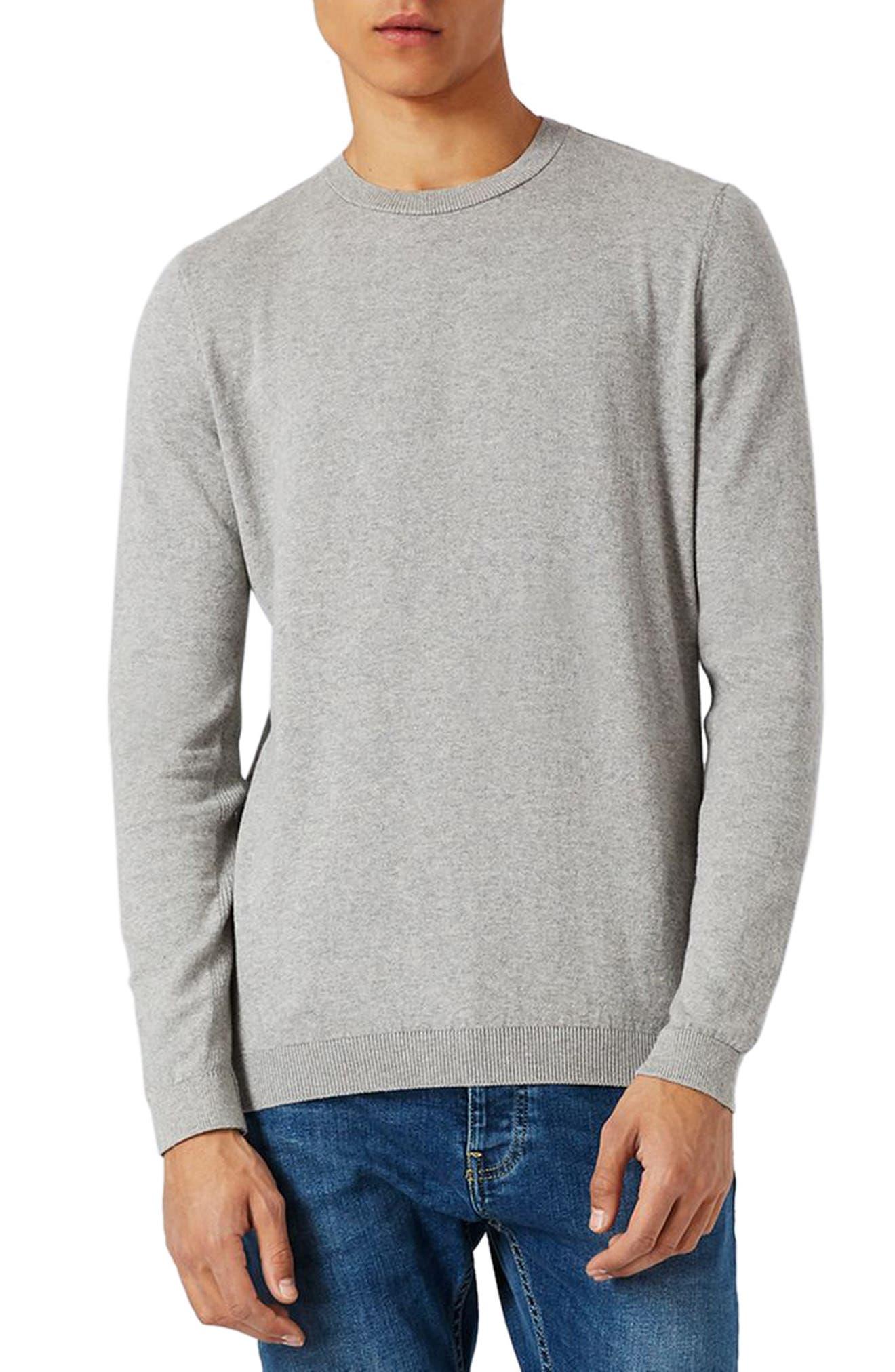 Side Rib Cotton Sweater,                             Main thumbnail 2, color,