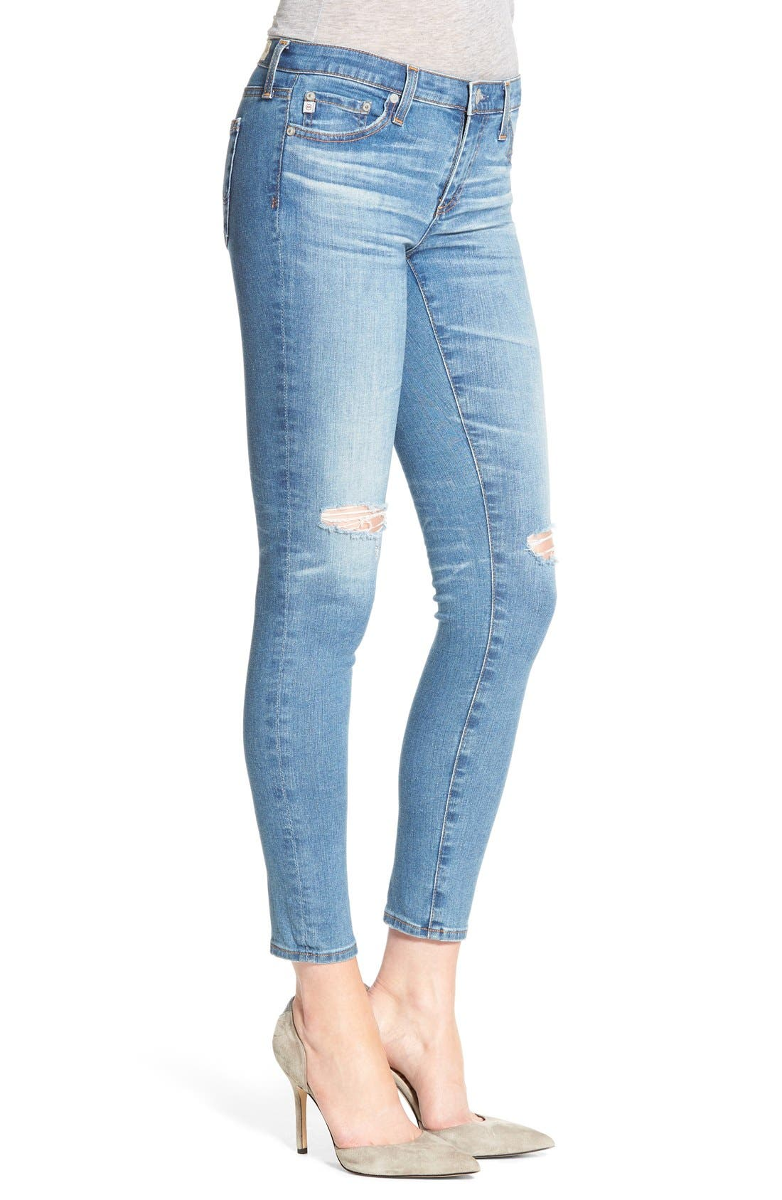 The Legging Ankle Jeans,                             Alternate thumbnail 102, color,