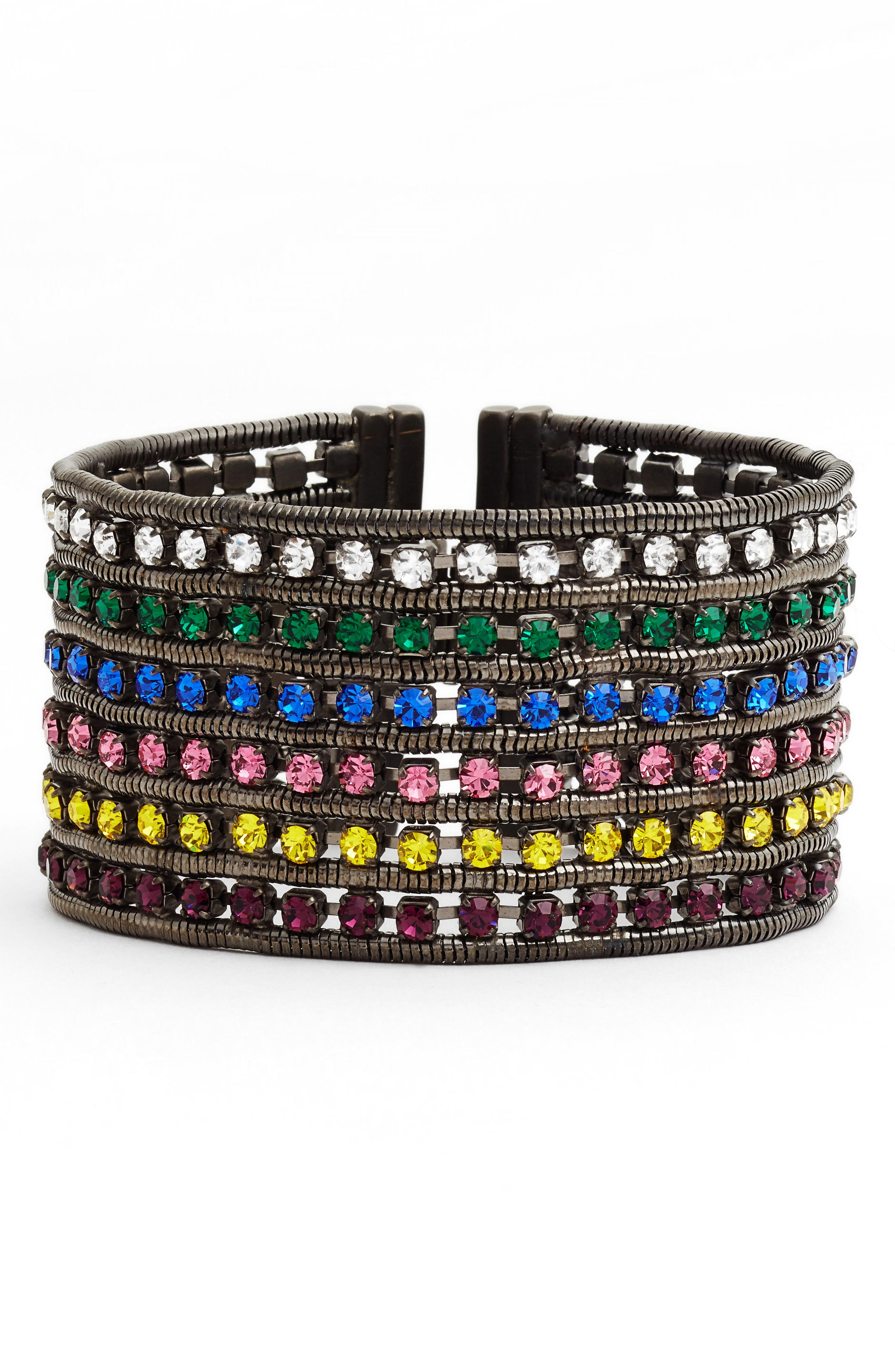 Nina Wide Bracelet,                             Main thumbnail 2, color,