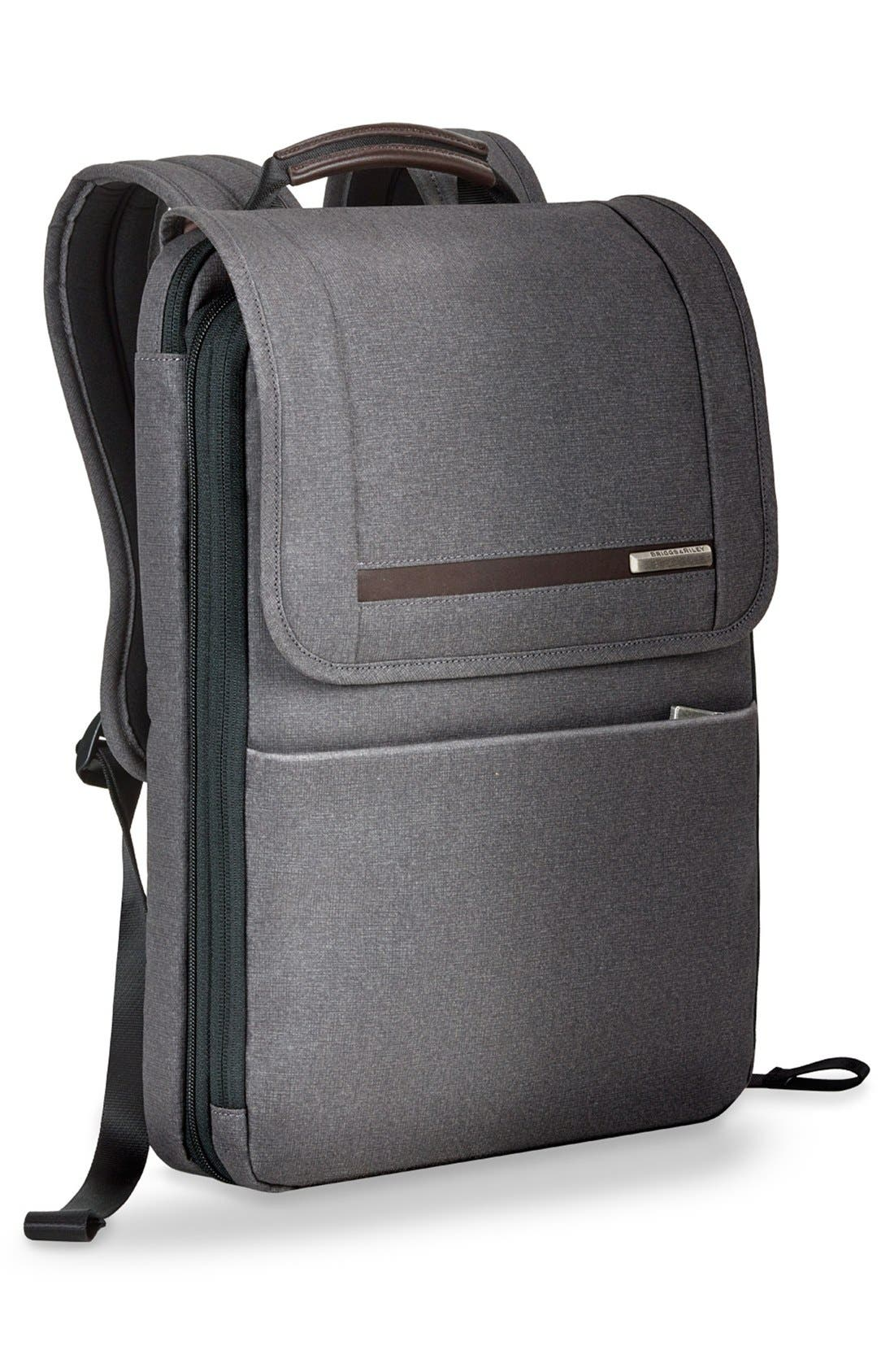 Kinzie Street Expandable Backpack,                             Alternate thumbnail 3, color,                             020