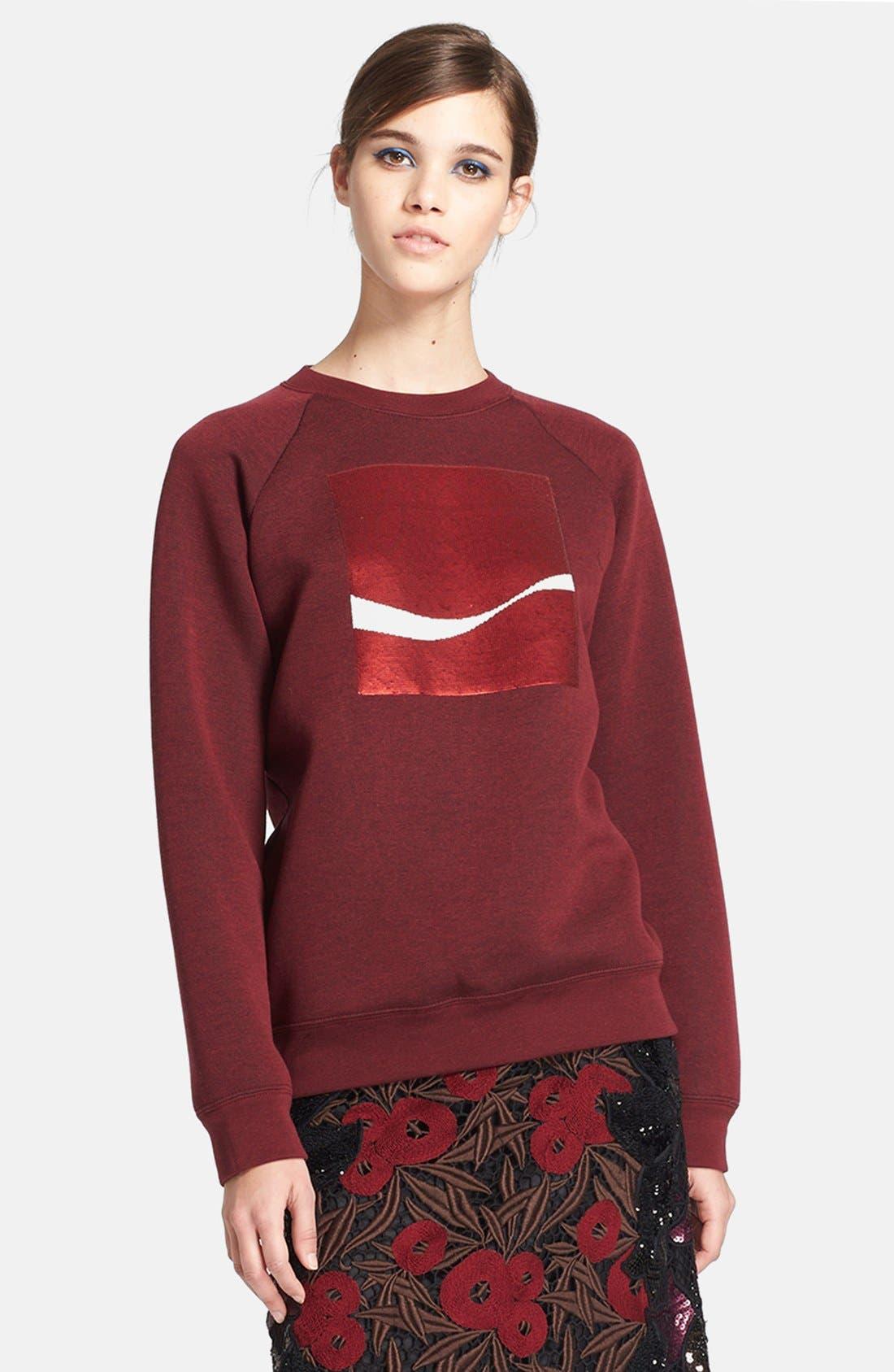 'Coca-Cola<sup>®</sup>' Sweatshirt,                             Main thumbnail 1, color,                             601