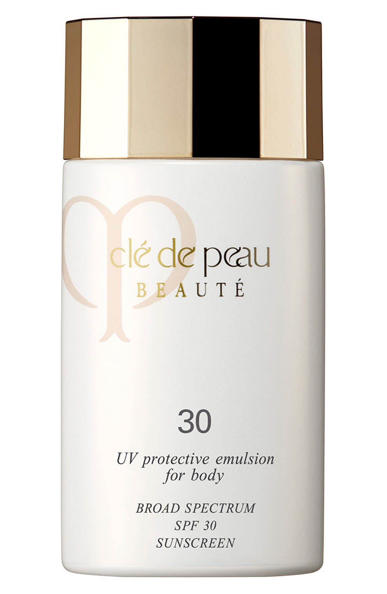 UV Protective Emulsion for Body Broad Spectrum SPF 30,                             Main thumbnail 1, color,                             NO COLOR
