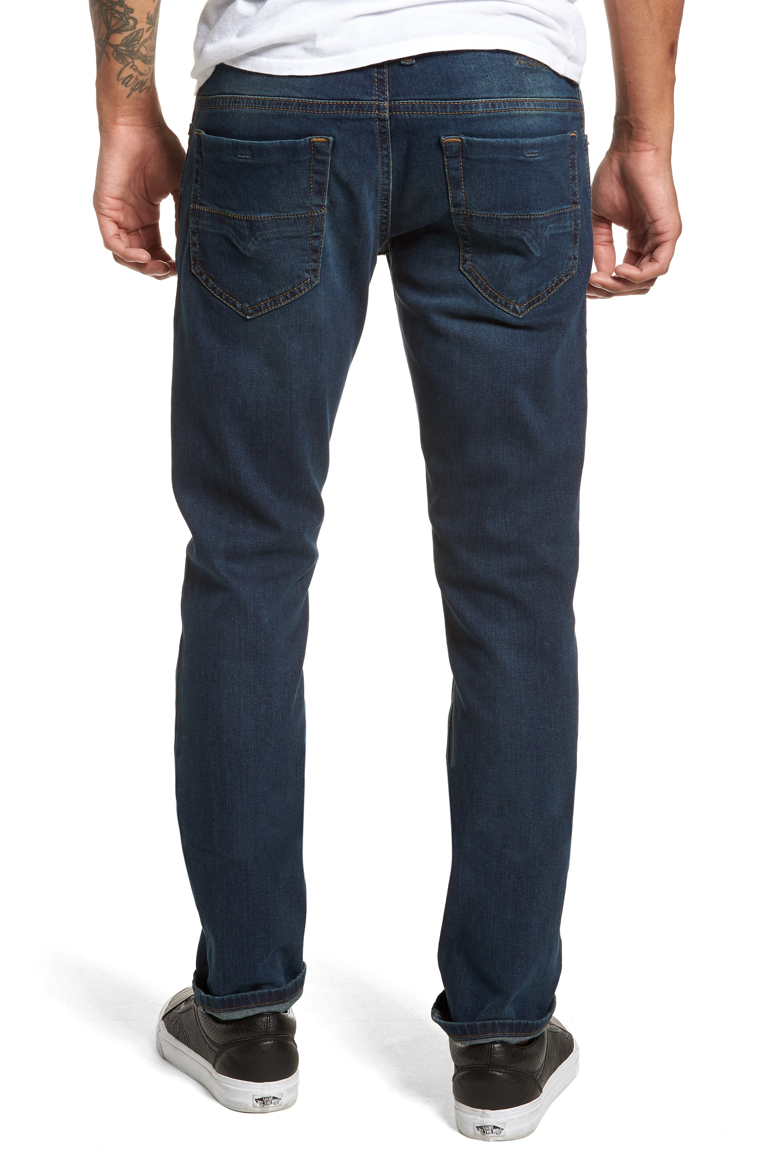 Thommer Skinny Fit Jeans,                             Alternate thumbnail 2, color,                             BLUE