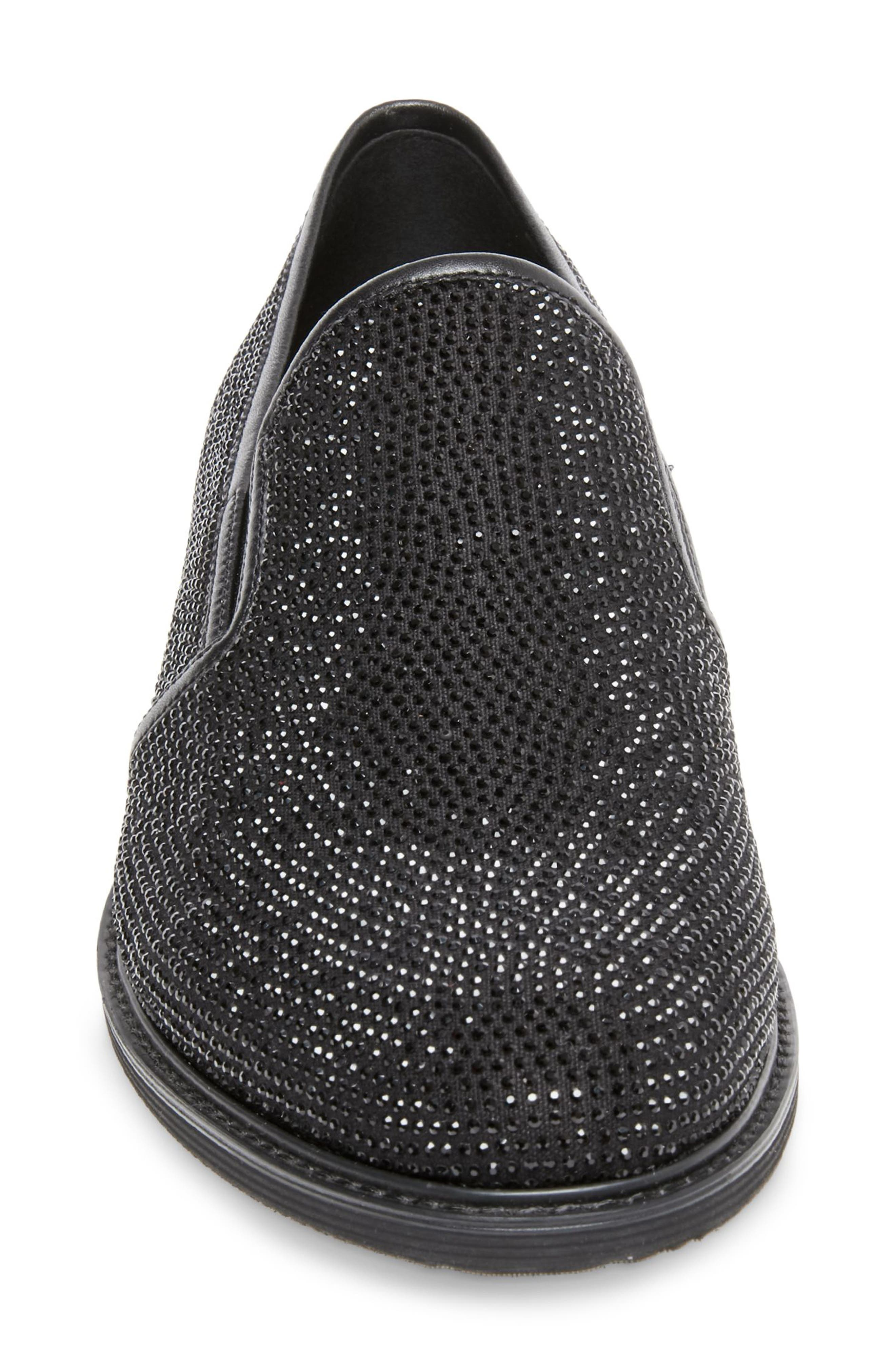 Nasca Studded Slip-On,                             Alternate thumbnail 3, color,                             BLACK