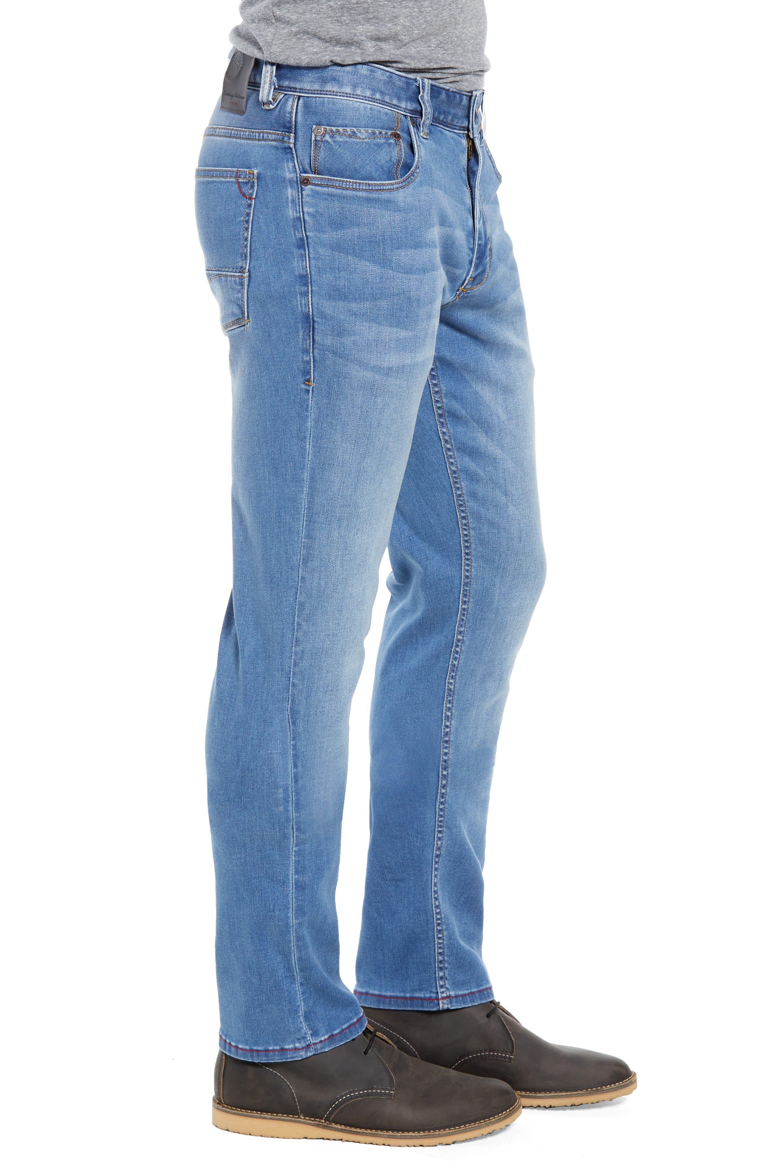 Costa Rica Vintage Regular Fit Jeans,                             Alternate thumbnail 3, color,                             MED WASH