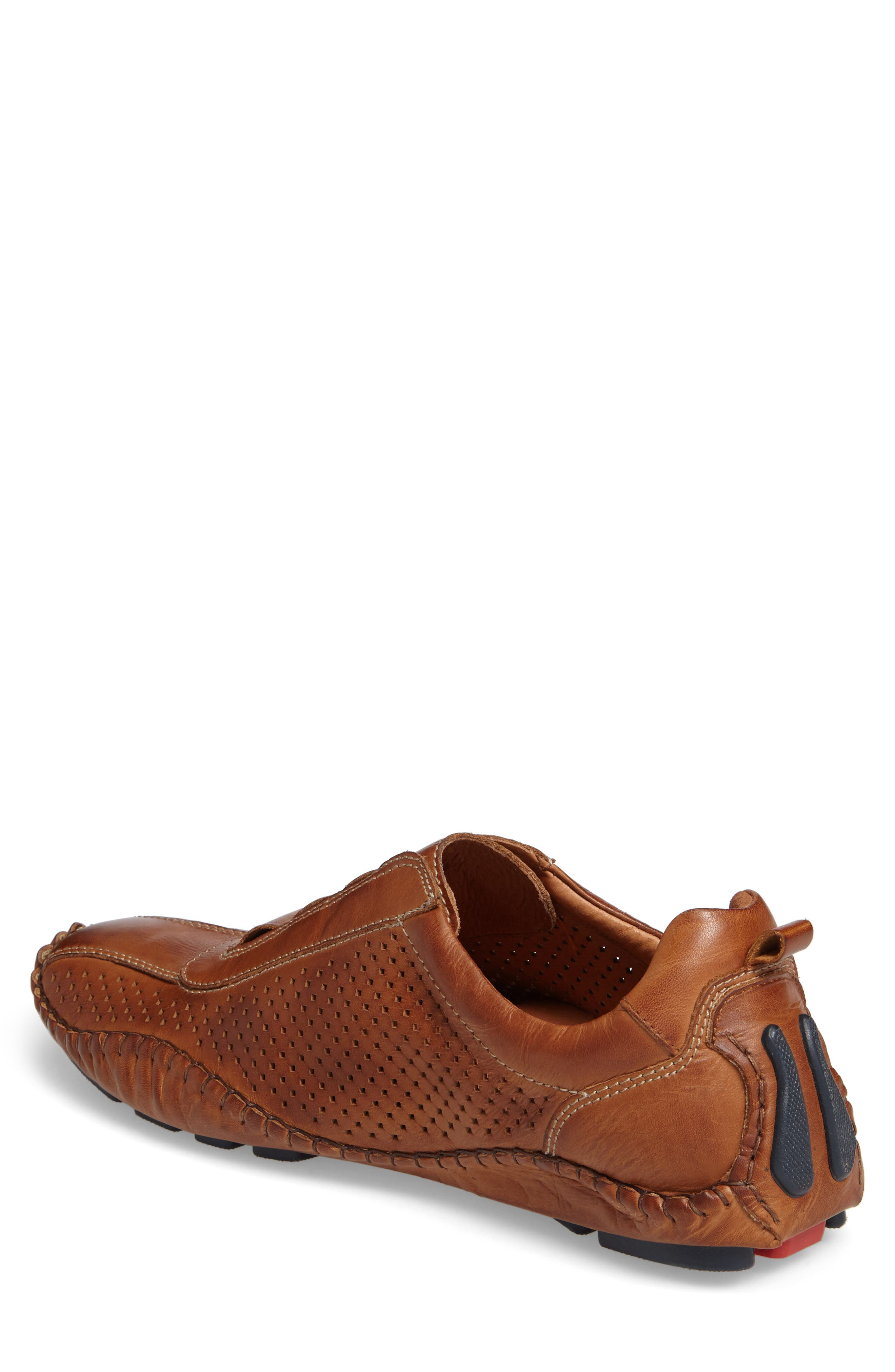 Fuencarral Driving Shoe,                             Alternate thumbnail 2, color,                             BRANDY LEATHER