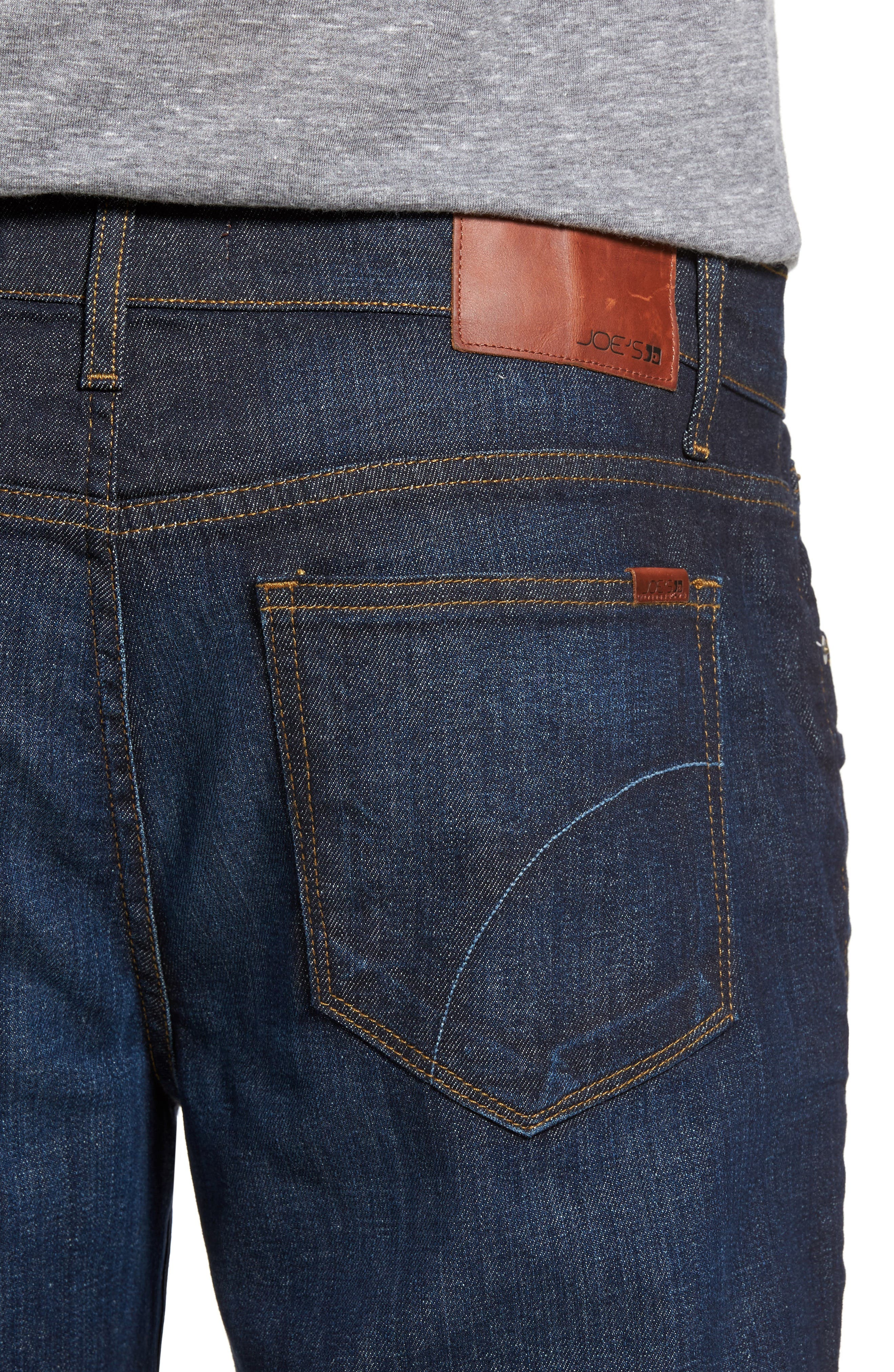 Classic Straight Fit Jeans,                             Alternate thumbnail 5, color,                             TIMOTHY