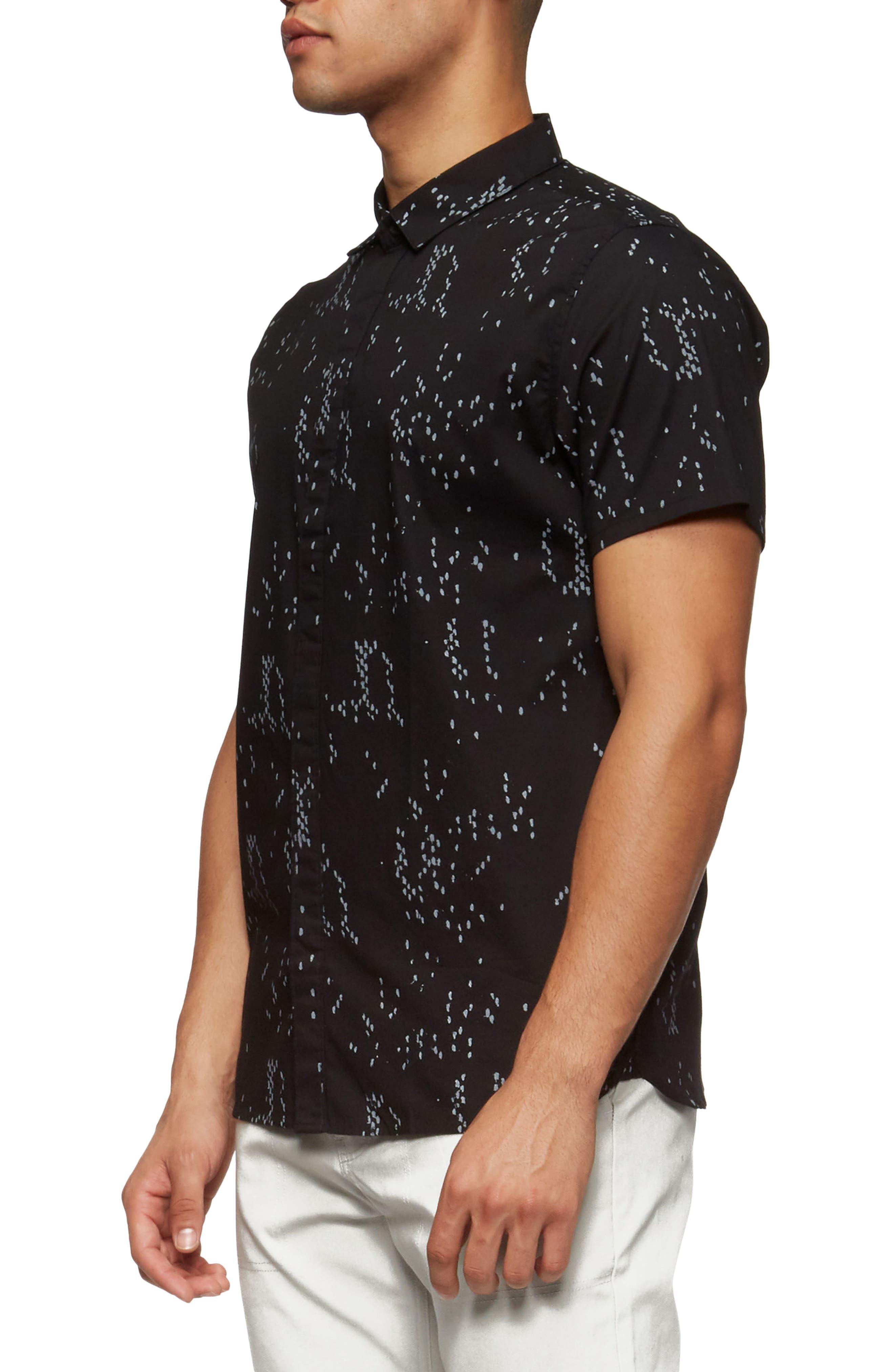 Bowery Short Sleeve Shirt,                             Alternate thumbnail 7, color,