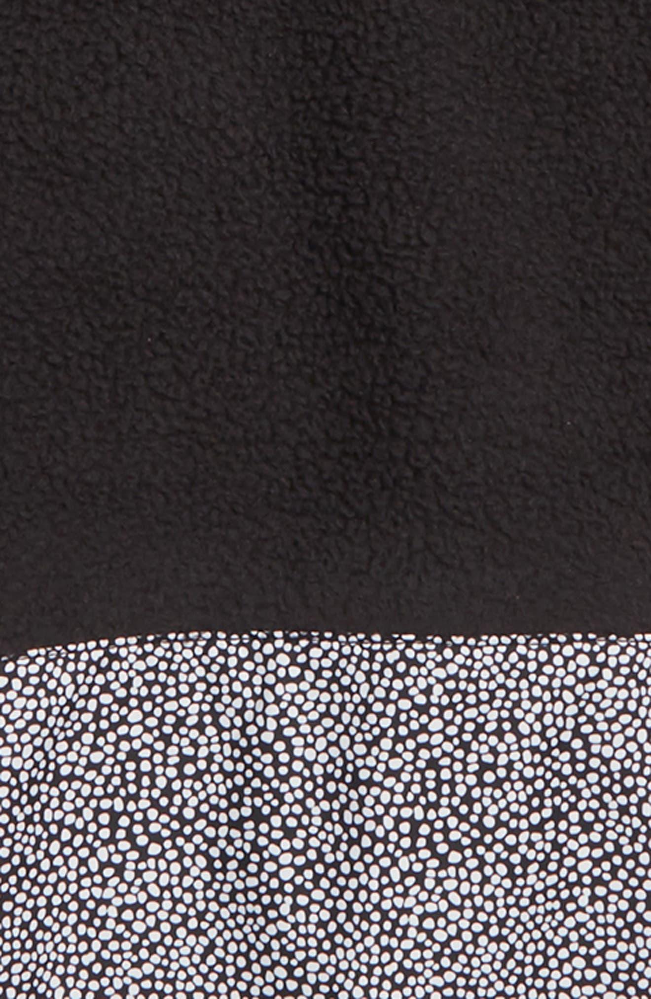 RIIT Fleece Hoodie,                             Alternate thumbnail 2, color,                             TNF BLACK