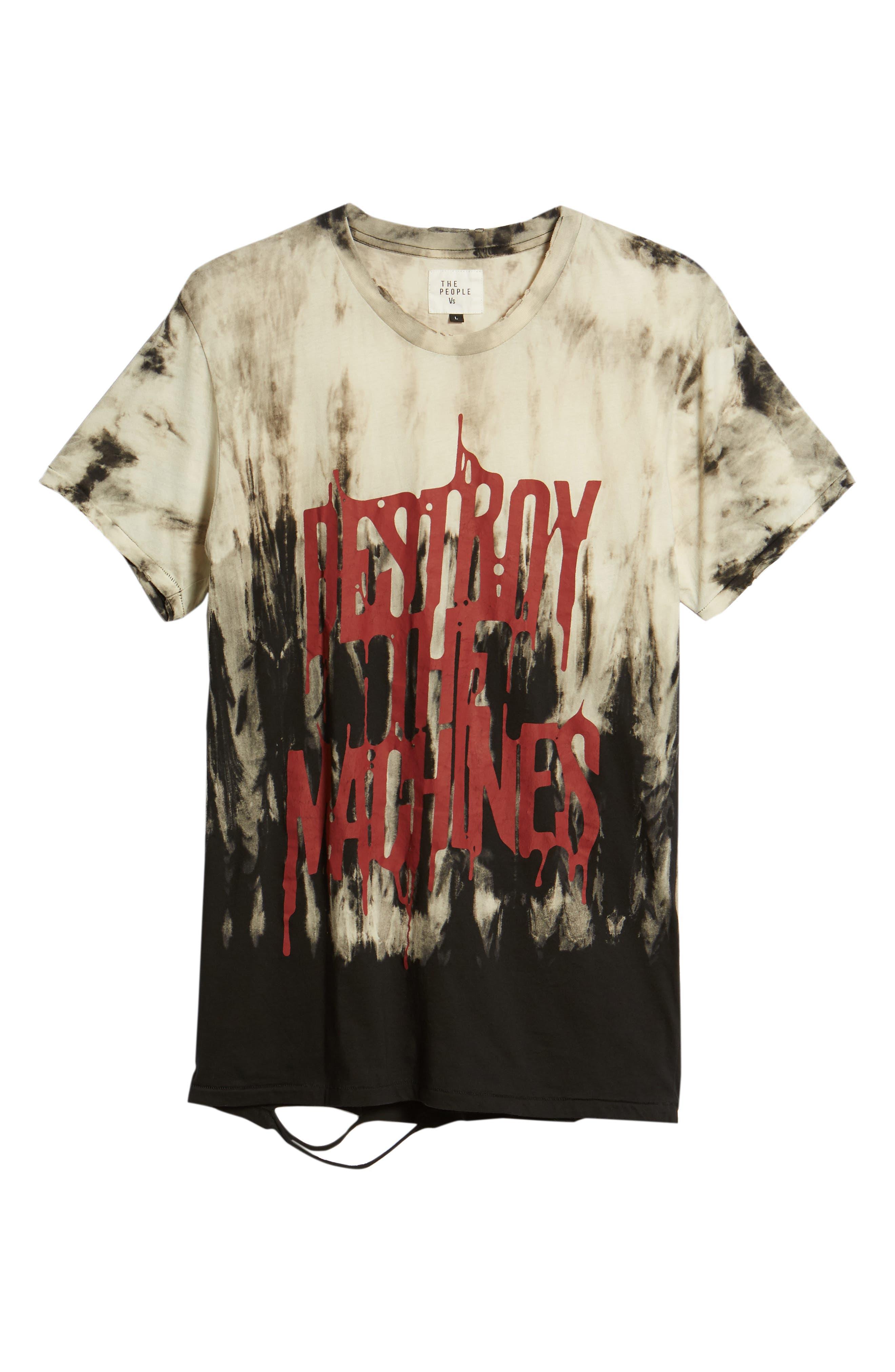 Machines Moth T-Shirt,                             Alternate thumbnail 6, color,                             200