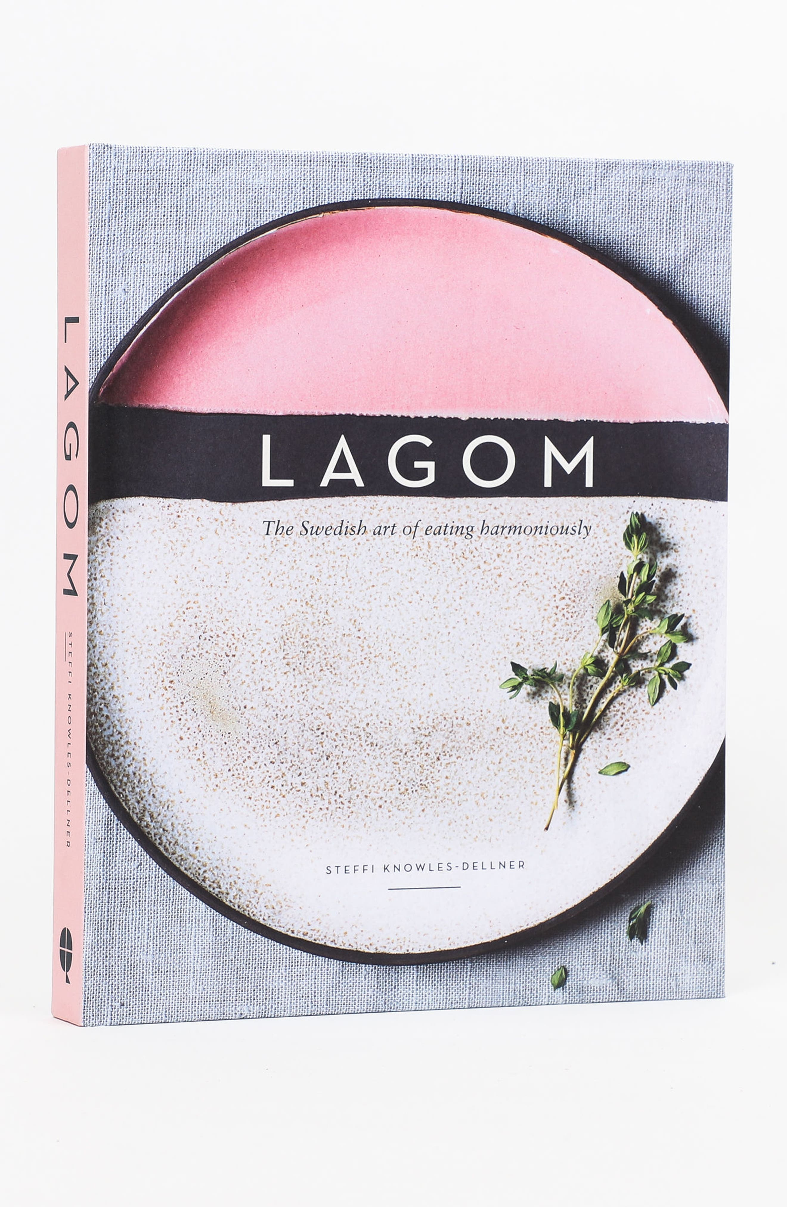 'Lagom: The Swedish Art of Eating Harmoniously' Book,                             Alternate thumbnail 3, color,                             PINK MULTI