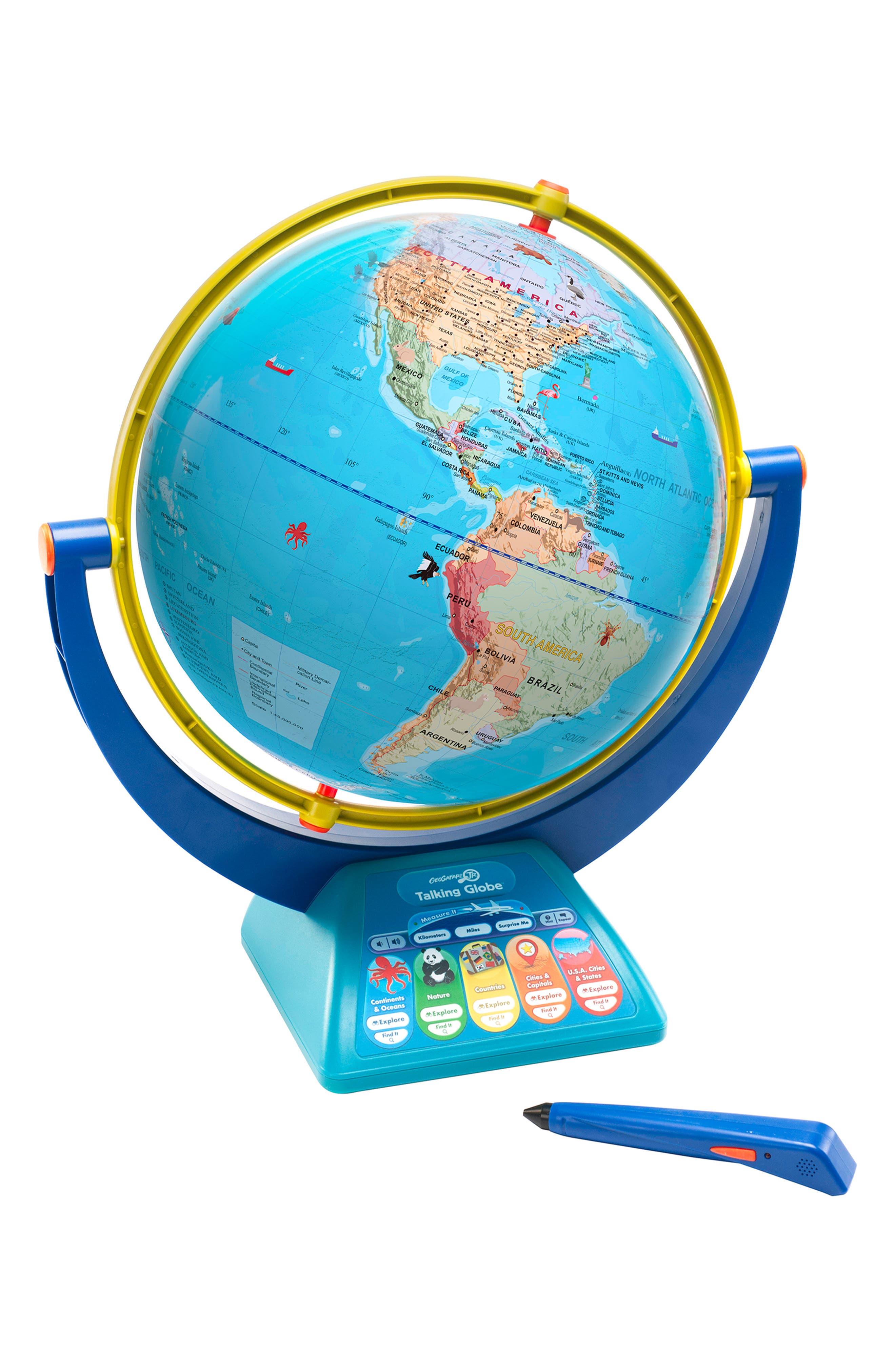 Geosafari<sup>®</sup> Jr. Talking Globe<sup>™</sup>,                         Main,                         color, 960