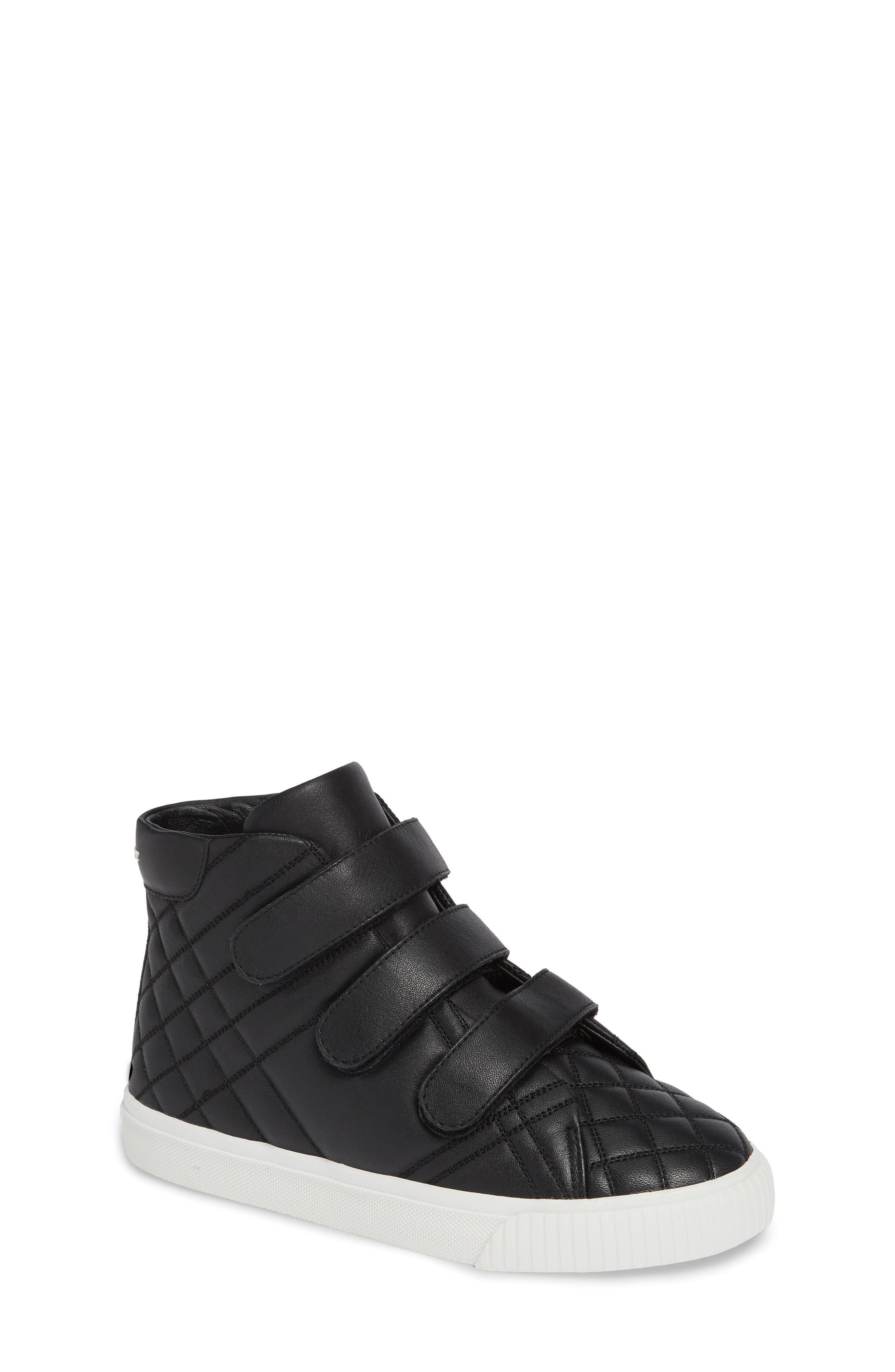 Sturrock Hi Top Sneaker,                             Main thumbnail 1, color,                             BLACK
