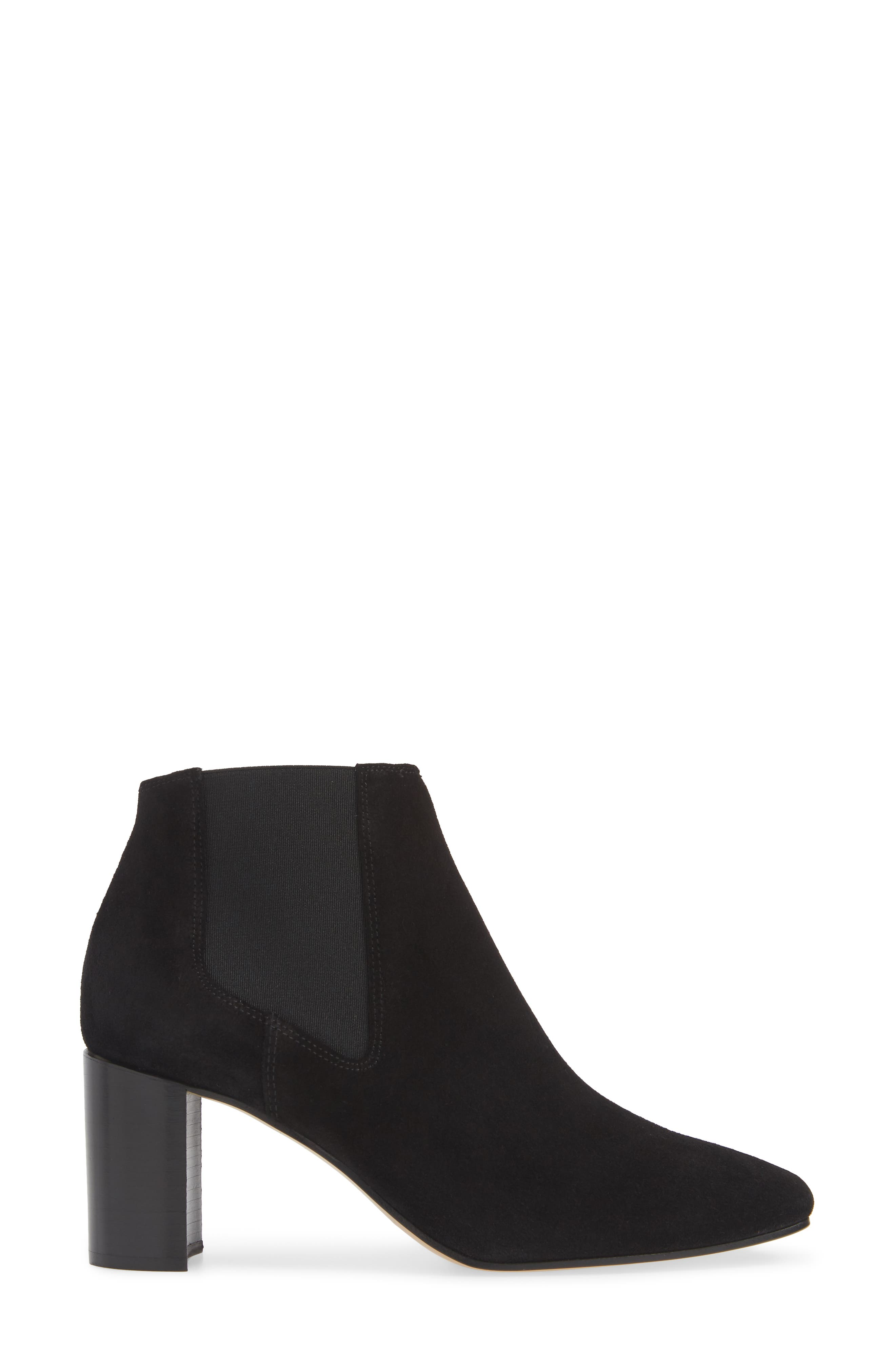 Asleen Boot,                             Alternate thumbnail 3, color,                             BLACK SUEDE