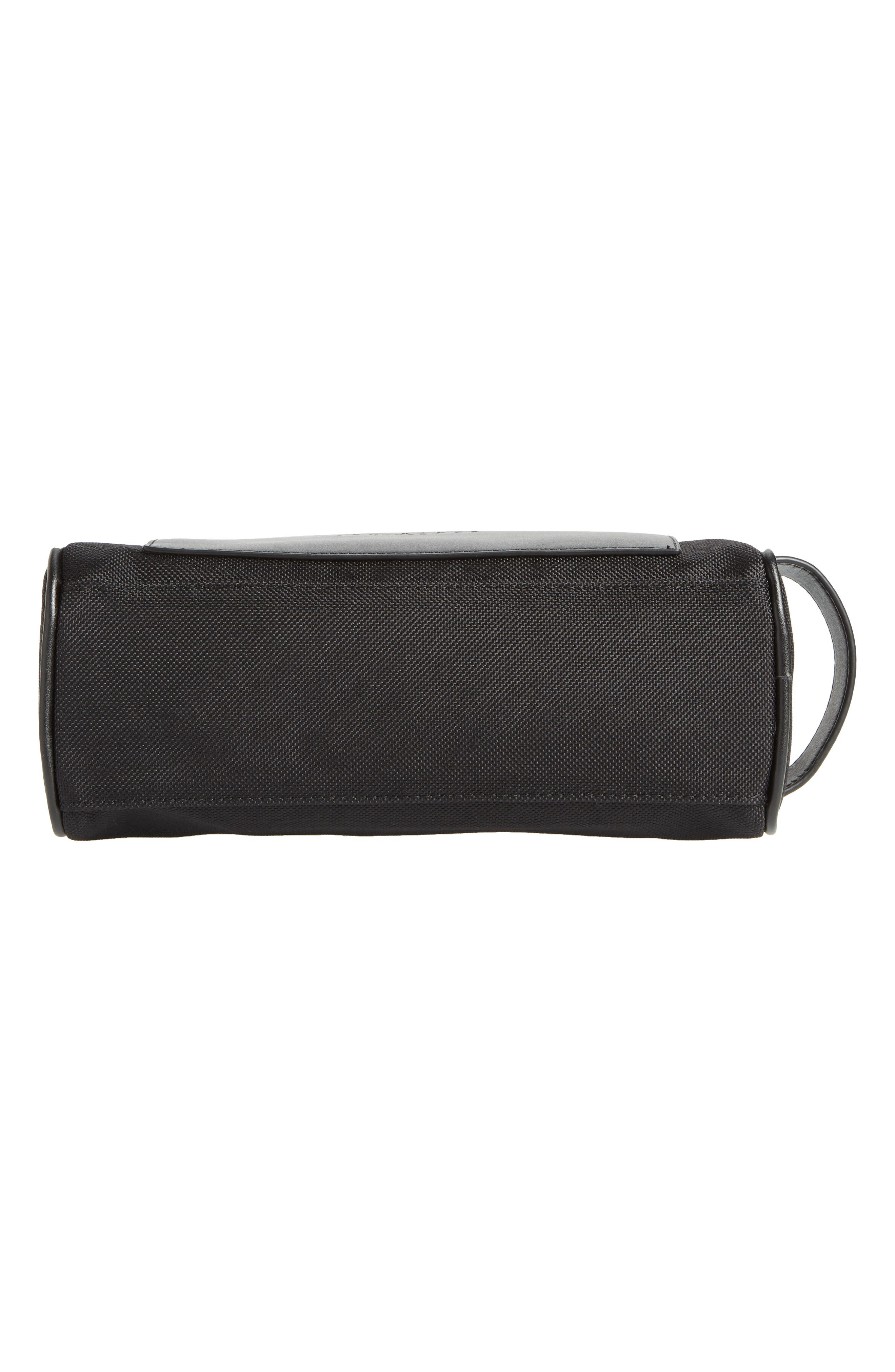 TED BAKER LONDON,                             Blends Dopp Kit,                             Alternate thumbnail 5, color,                             BLACK