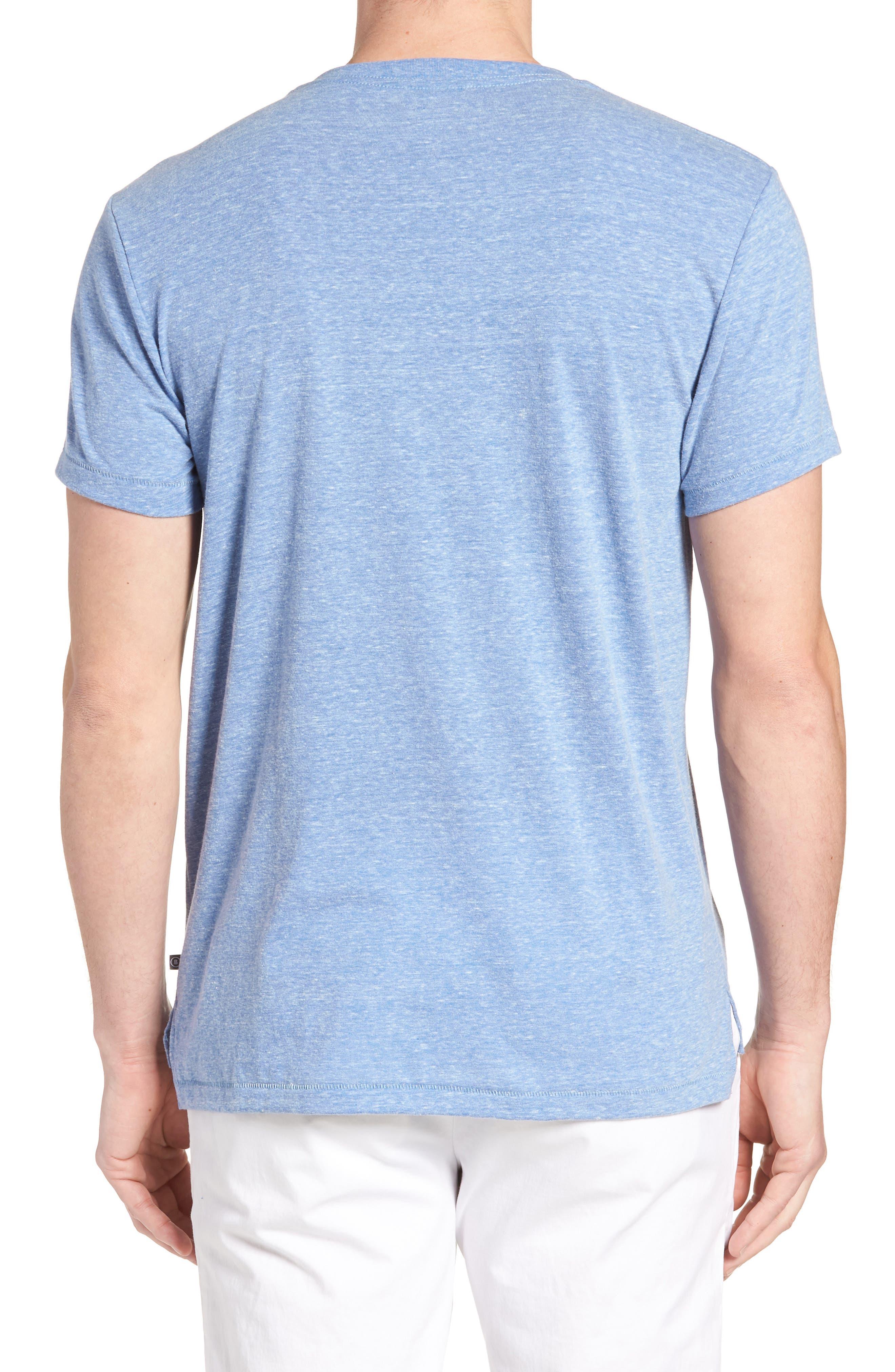 LA Slim Fit Heathered T-Shirt,                             Alternate thumbnail 5, color,