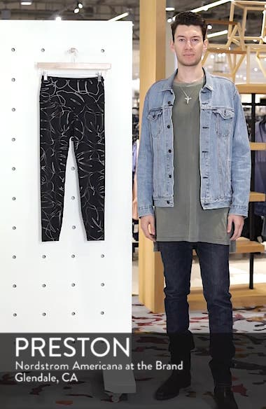 Flashback High Waist Midi Leggings, sales video thumbnail