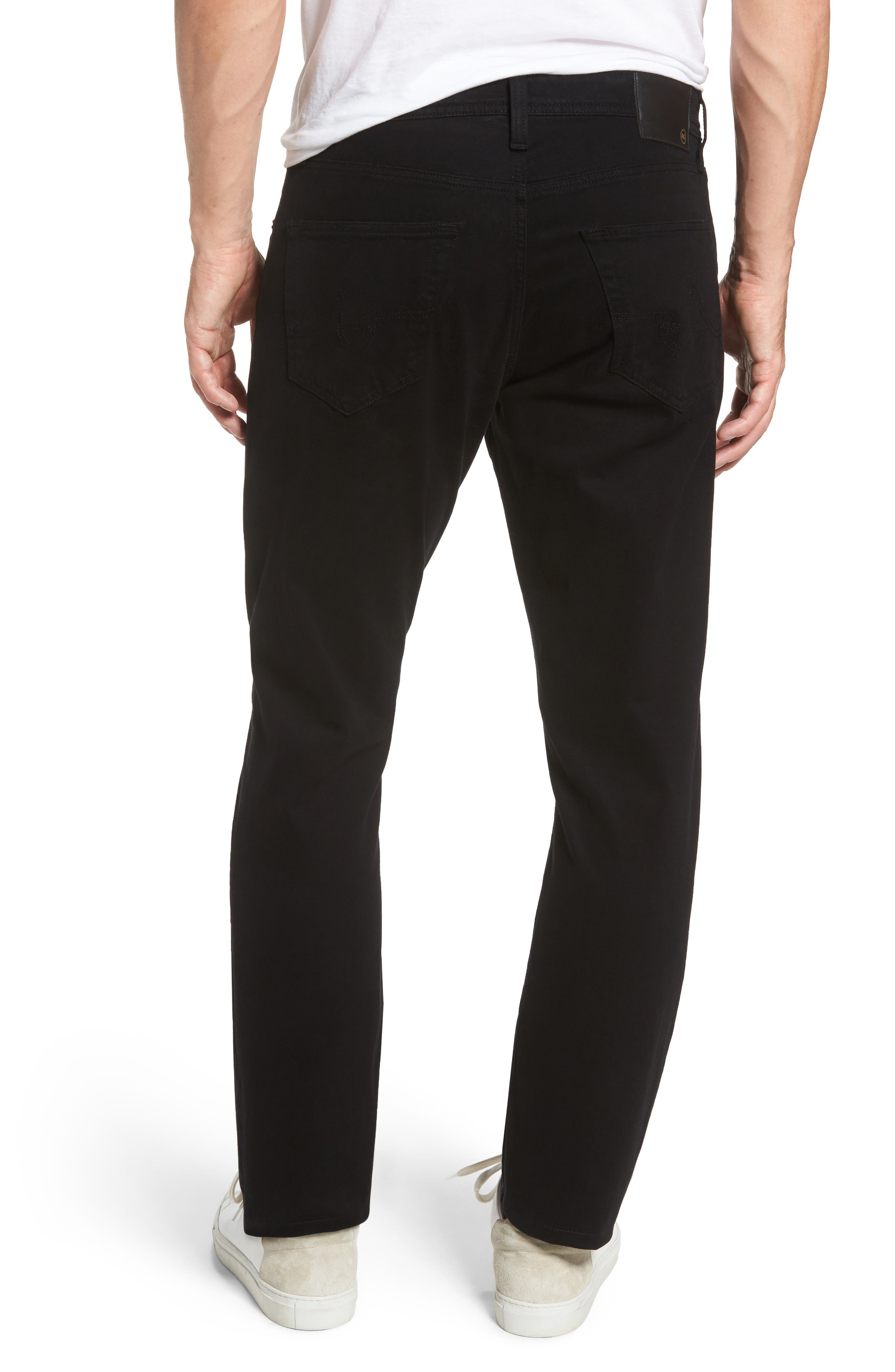 Ives SUD Straight Leg Pants,                             Alternate thumbnail 2, color,                             SUPER BLACK