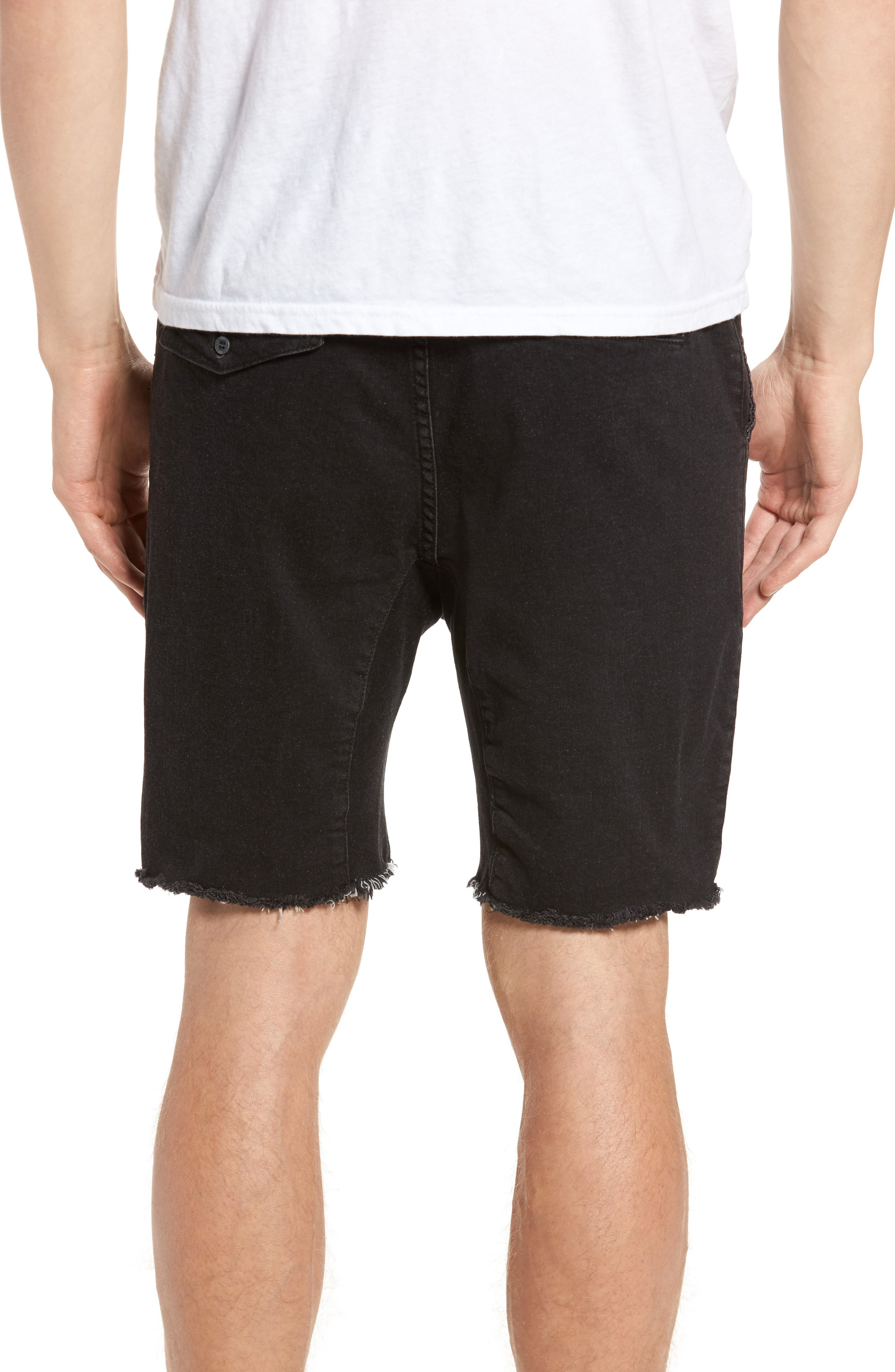 Sureshot Chino Shorts,                             Alternate thumbnail 2, color,                             BLACK WASH