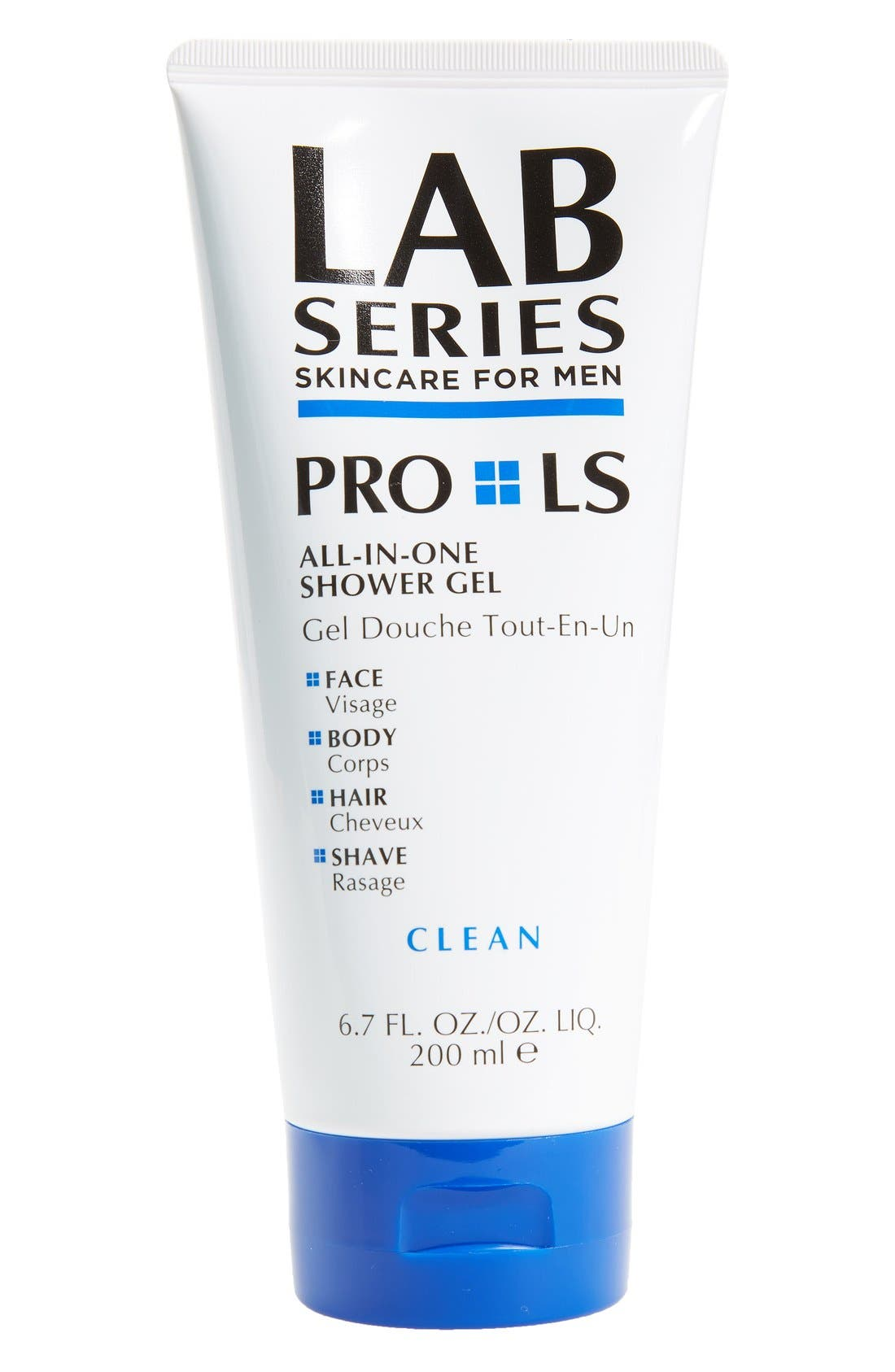 PRO LS All-in-One Shower Gel,                             Main thumbnail 1, color,                             000