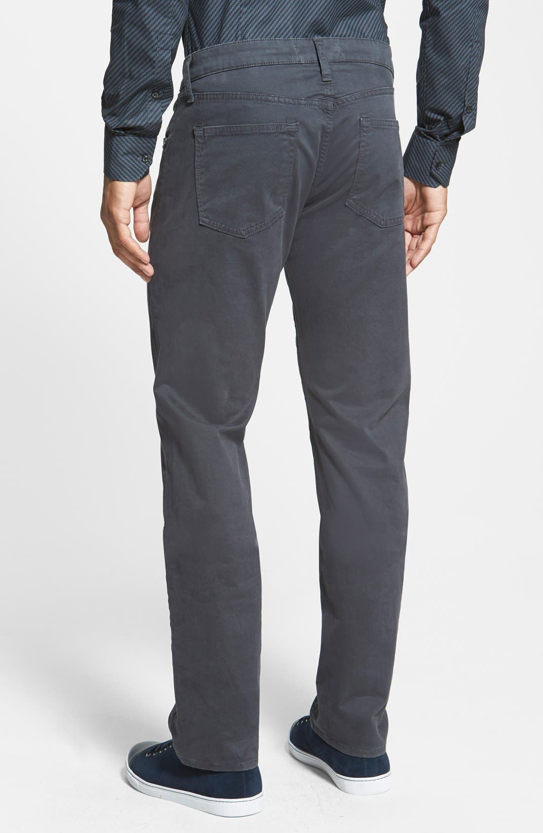 'Kane' Slim Fit Cotton Twill Pants,                             Alternate thumbnail 46, color,