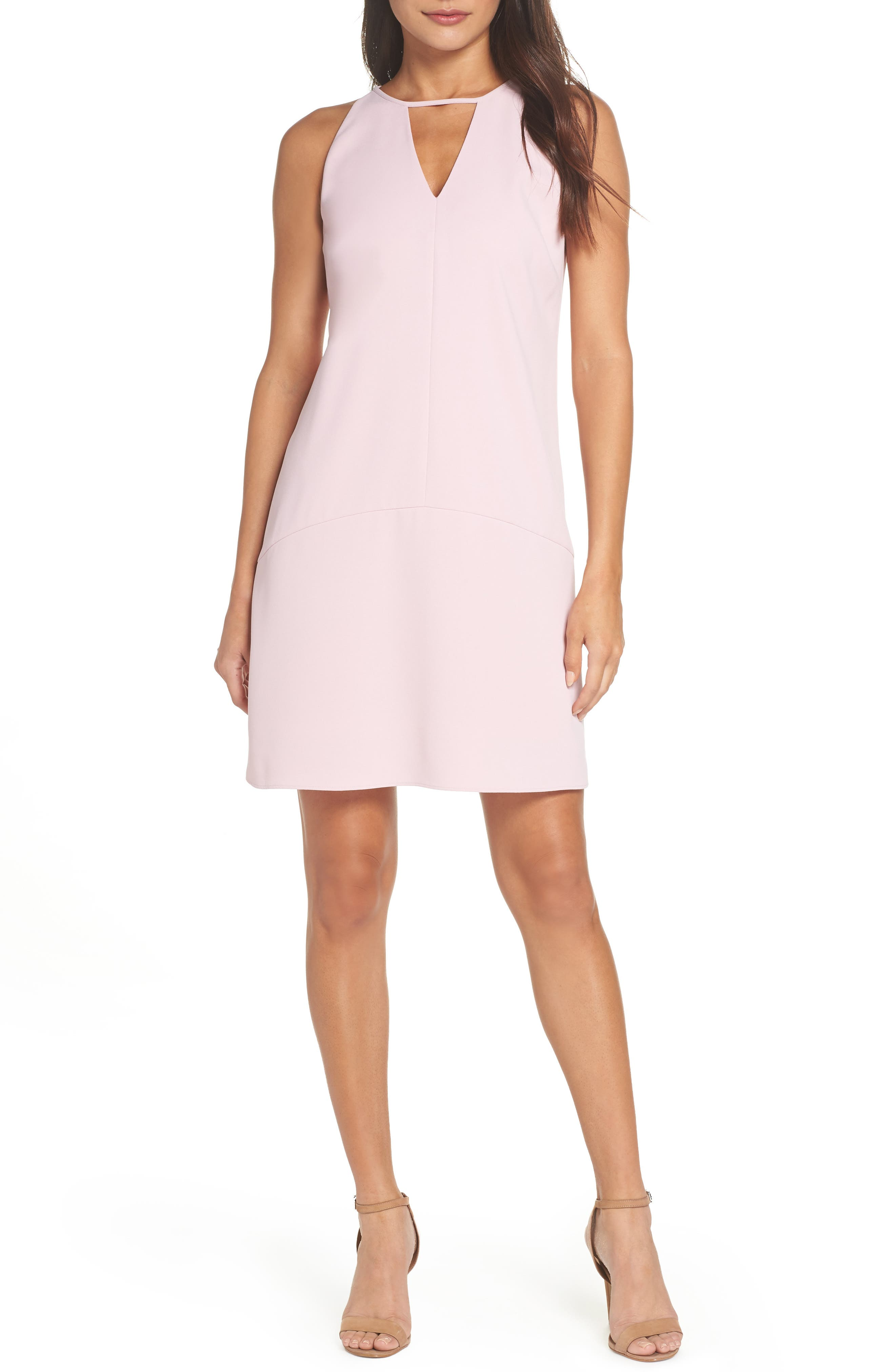 Sam Edelman Keyhole Shift Dress, Pink