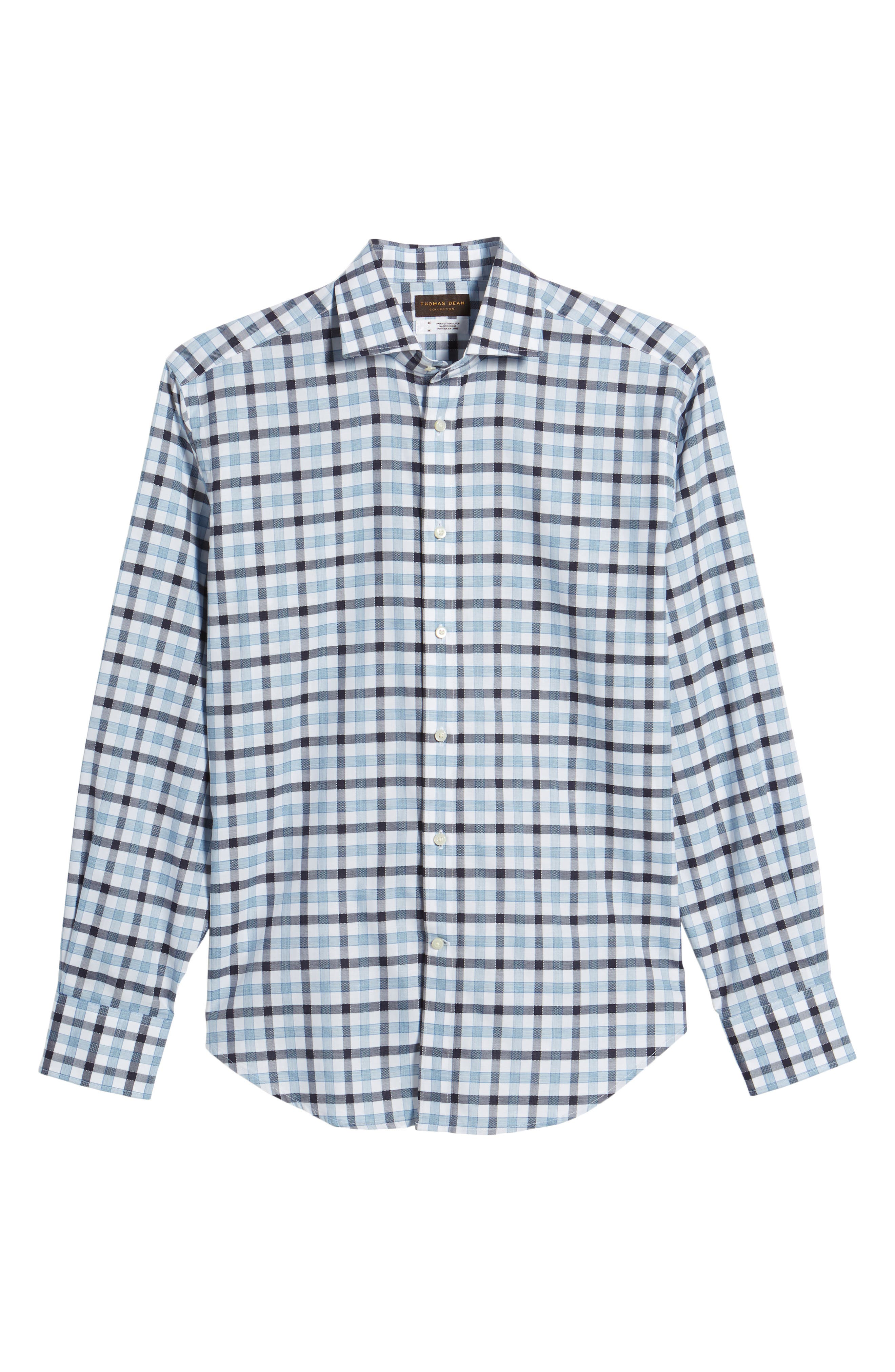 Check Sport Shirt,                             Alternate thumbnail 6, color,                             400