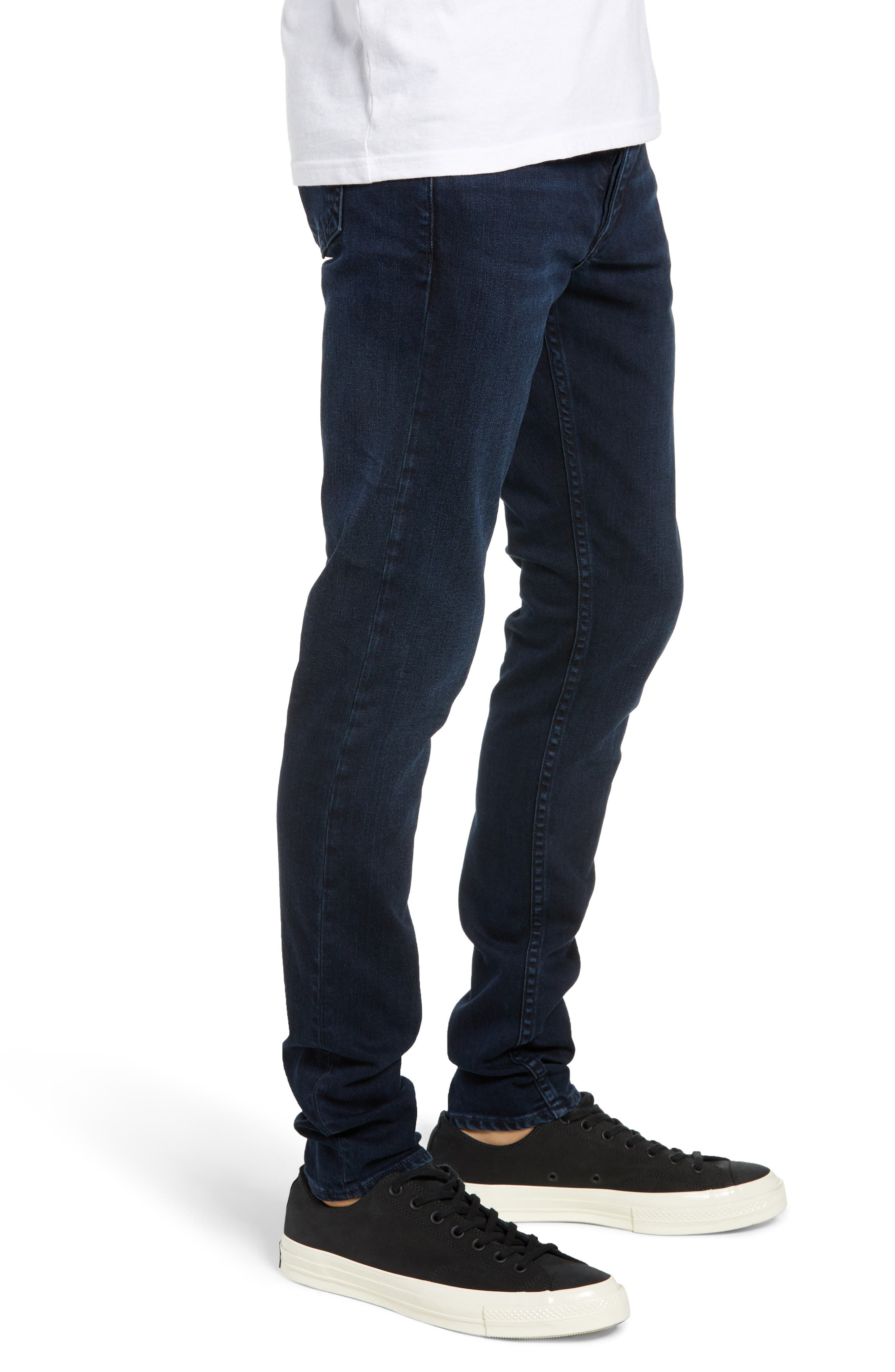 Fit 1 Skinny Fit Jeans,                             Alternate thumbnail 3, color,                             420