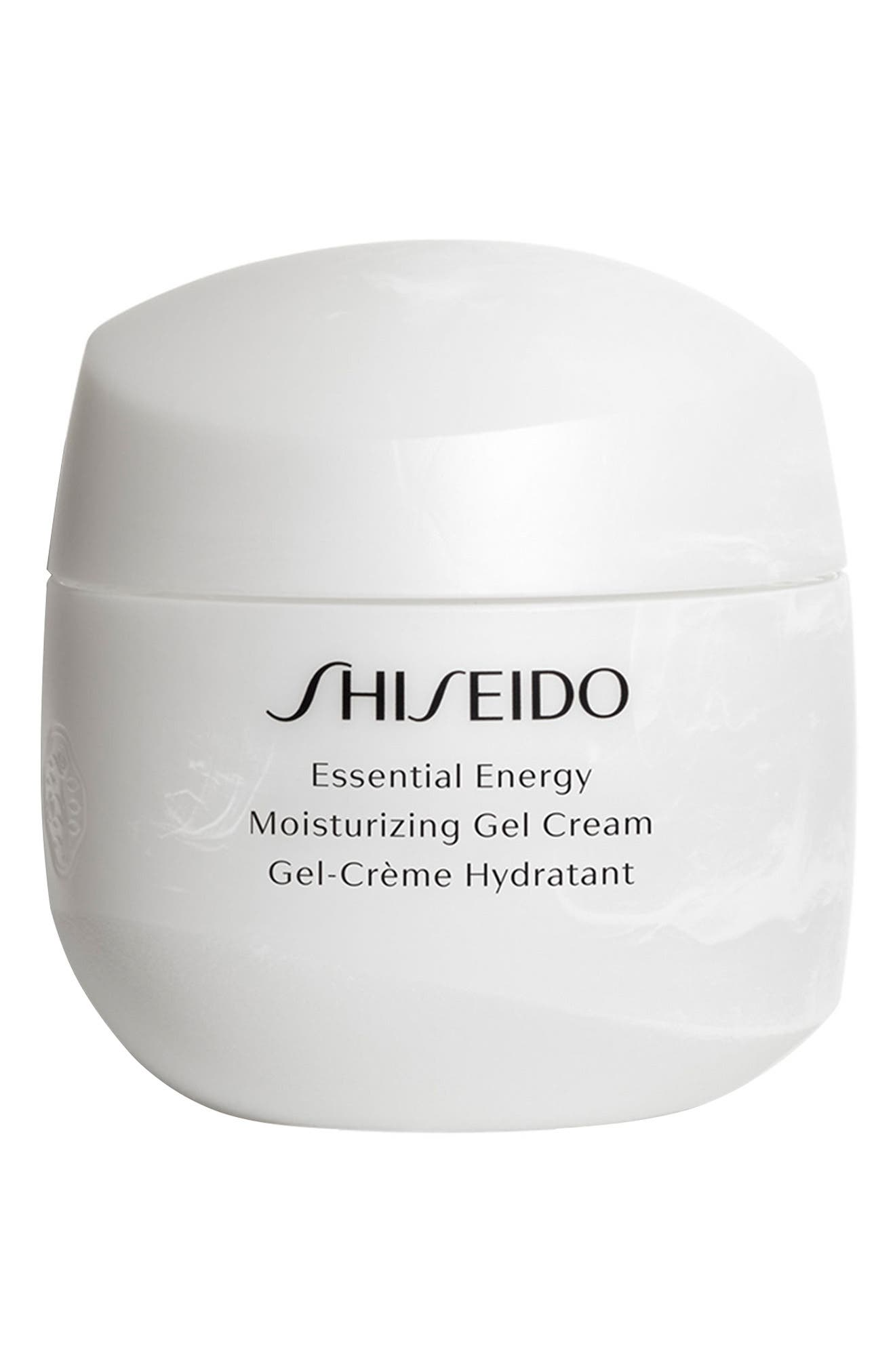 SHISEIDO,                             Essential Energy Moisturizing Gel Cream,                             Main thumbnail 1, color,                             NO COLOR