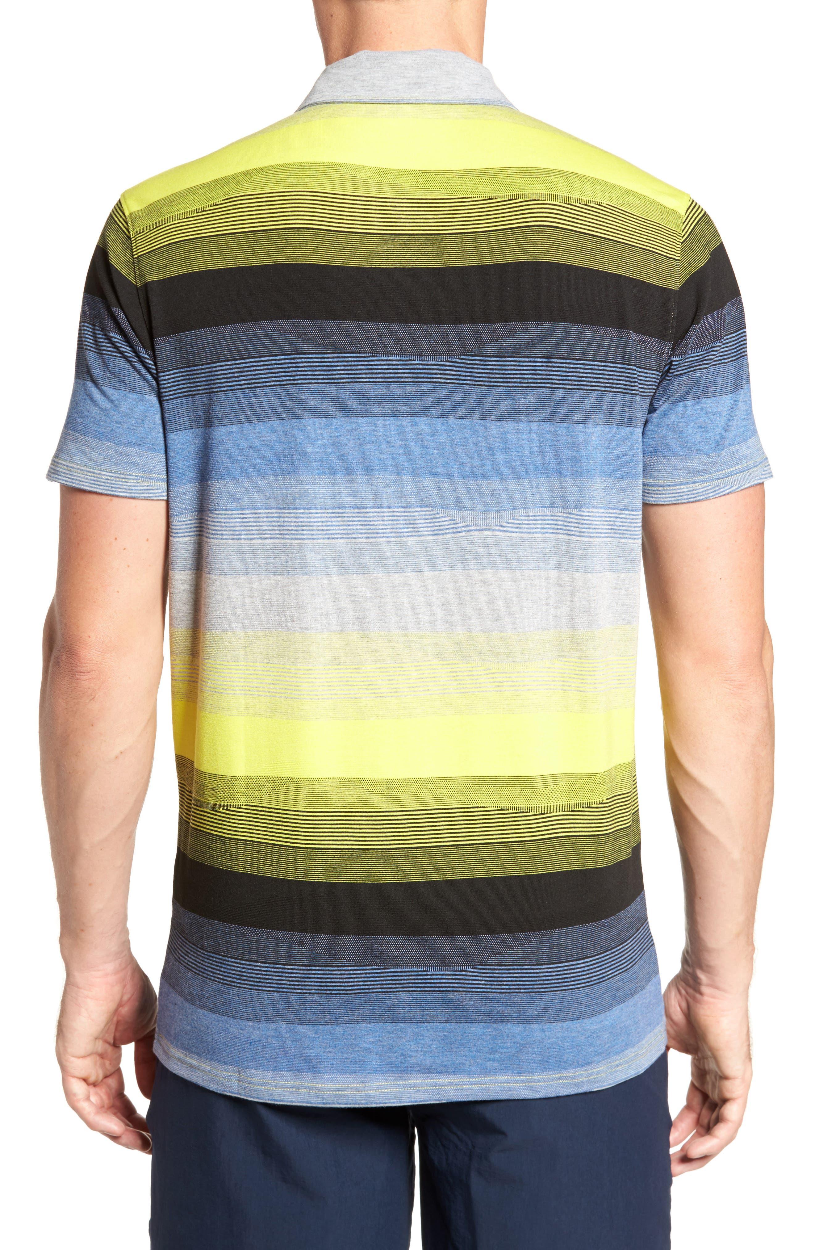 Lateral Polo Shirt,                             Alternate thumbnail 4, color,