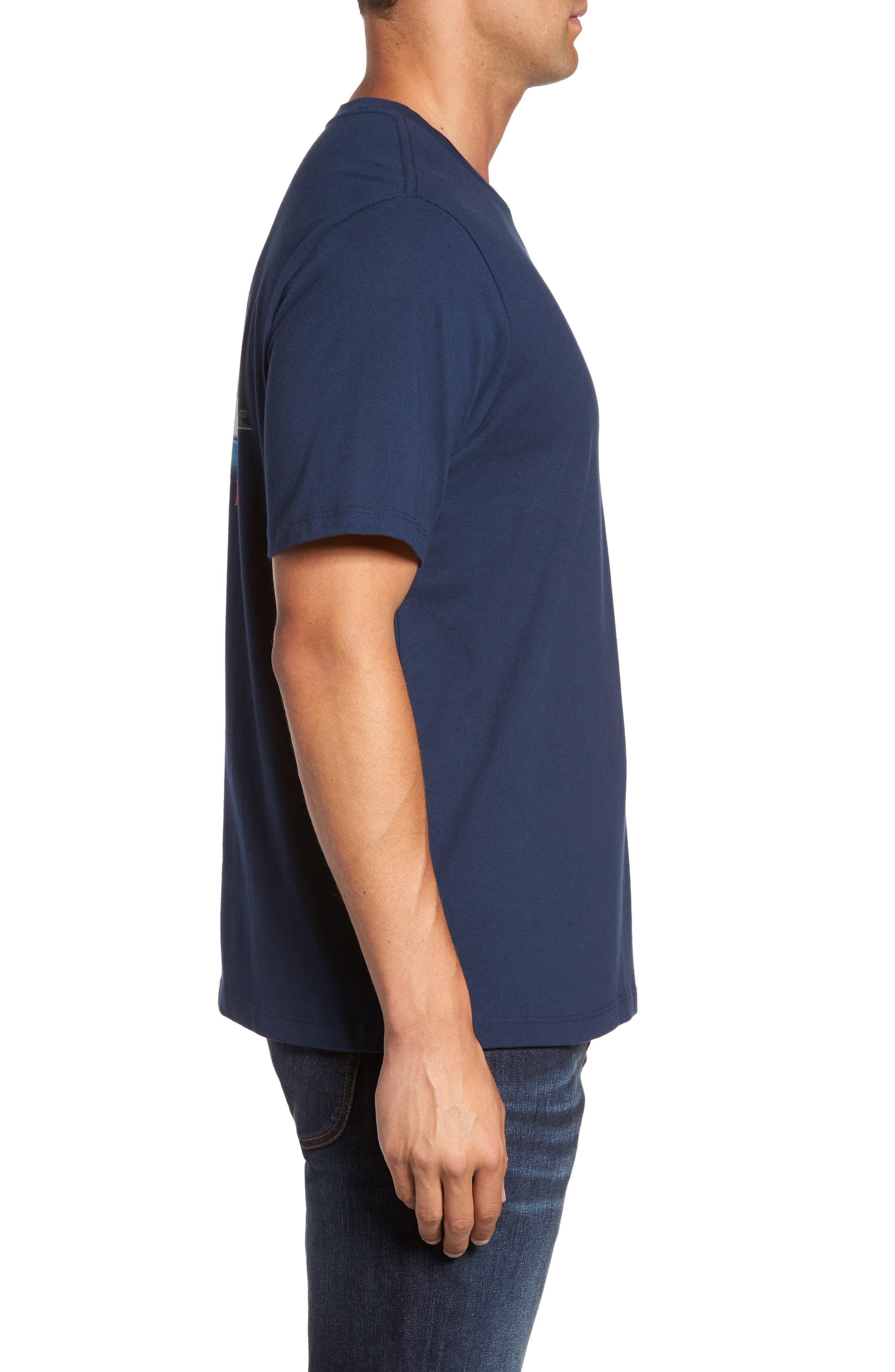 Big Boats Standard Fit T-Shirt,                             Alternate thumbnail 3, color,                             401