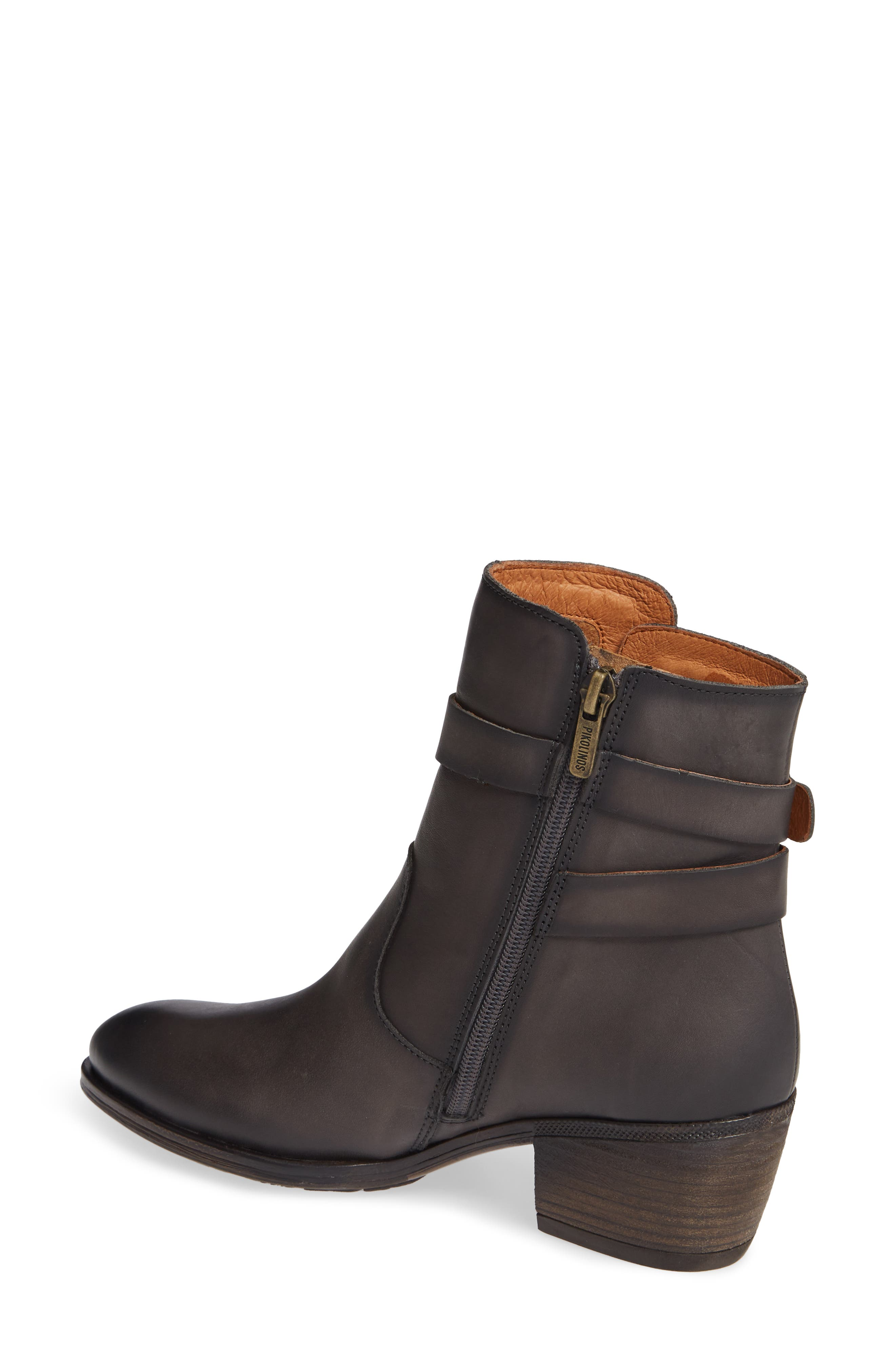 Baqueira Bootie,                             Alternate thumbnail 2, color,                             LEAD LEATHER