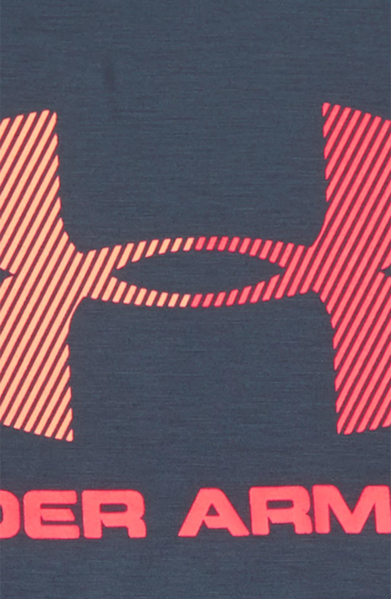 Threadborne HeatGear<sup>®</sup> T-Shirt,                             Alternate thumbnail 2, color,                             020