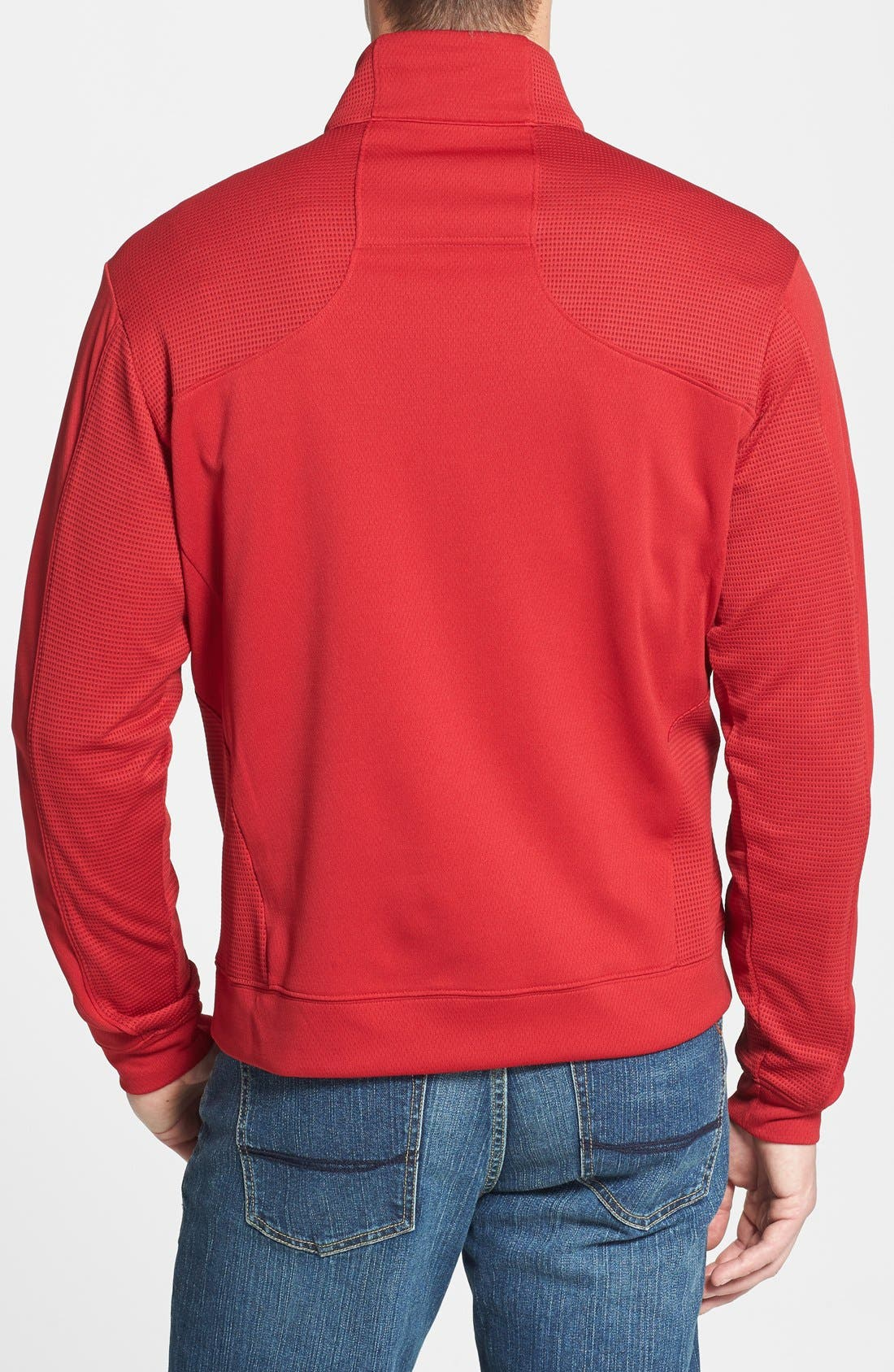 'DryTec<sup>®</sup> Edge' Half Zip Mesh Pullover,                             Alternate thumbnail 2, color,                             613