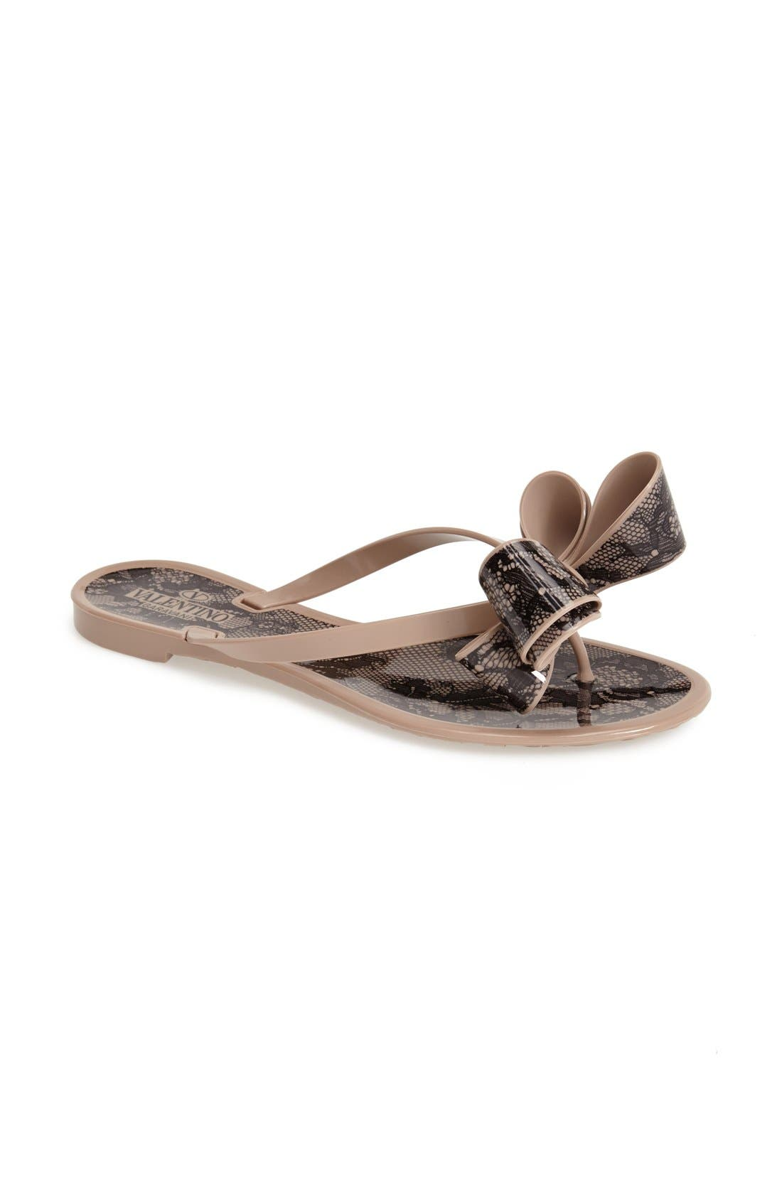 Couture Bow Thong Sandal,                             Alternate thumbnail 34, color,