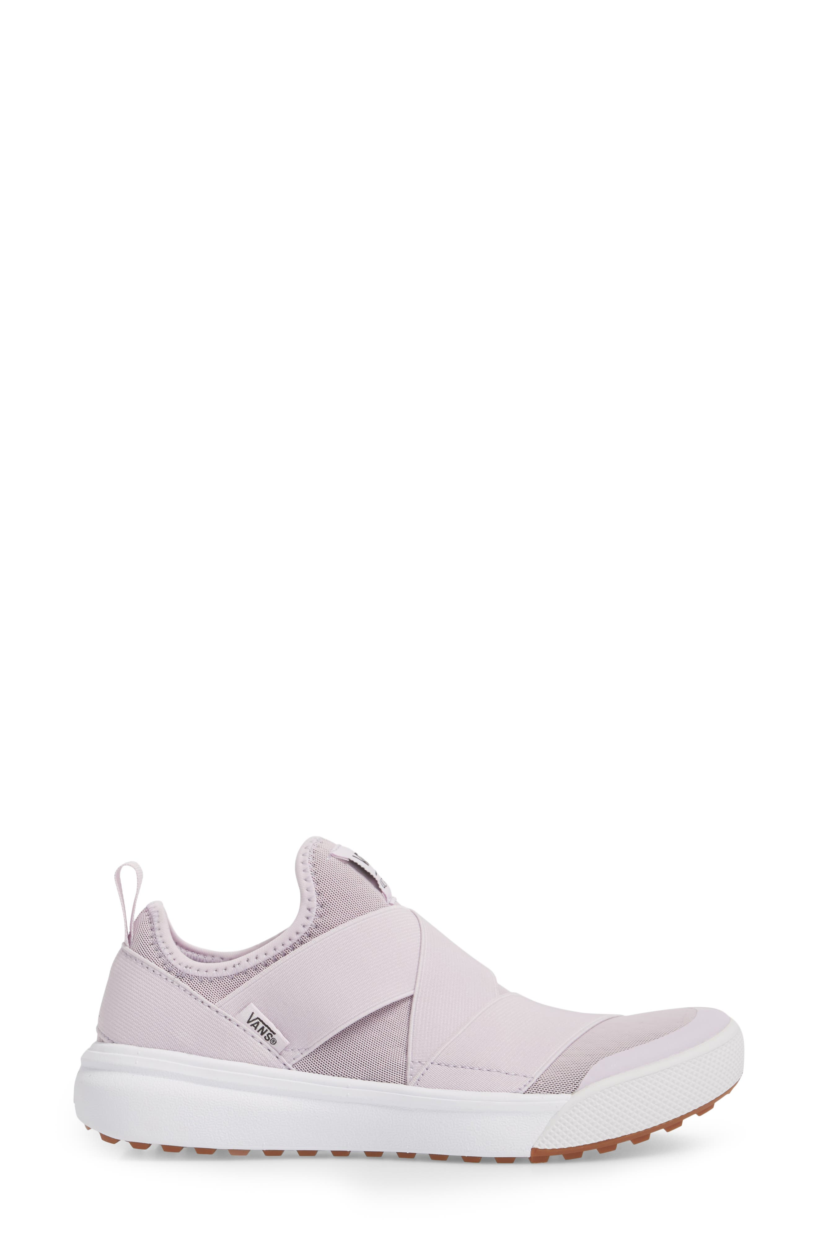 UltraRange Gore Slip-On Sneaker,                             Alternate thumbnail 3, color,                             LAVENDER FOG
