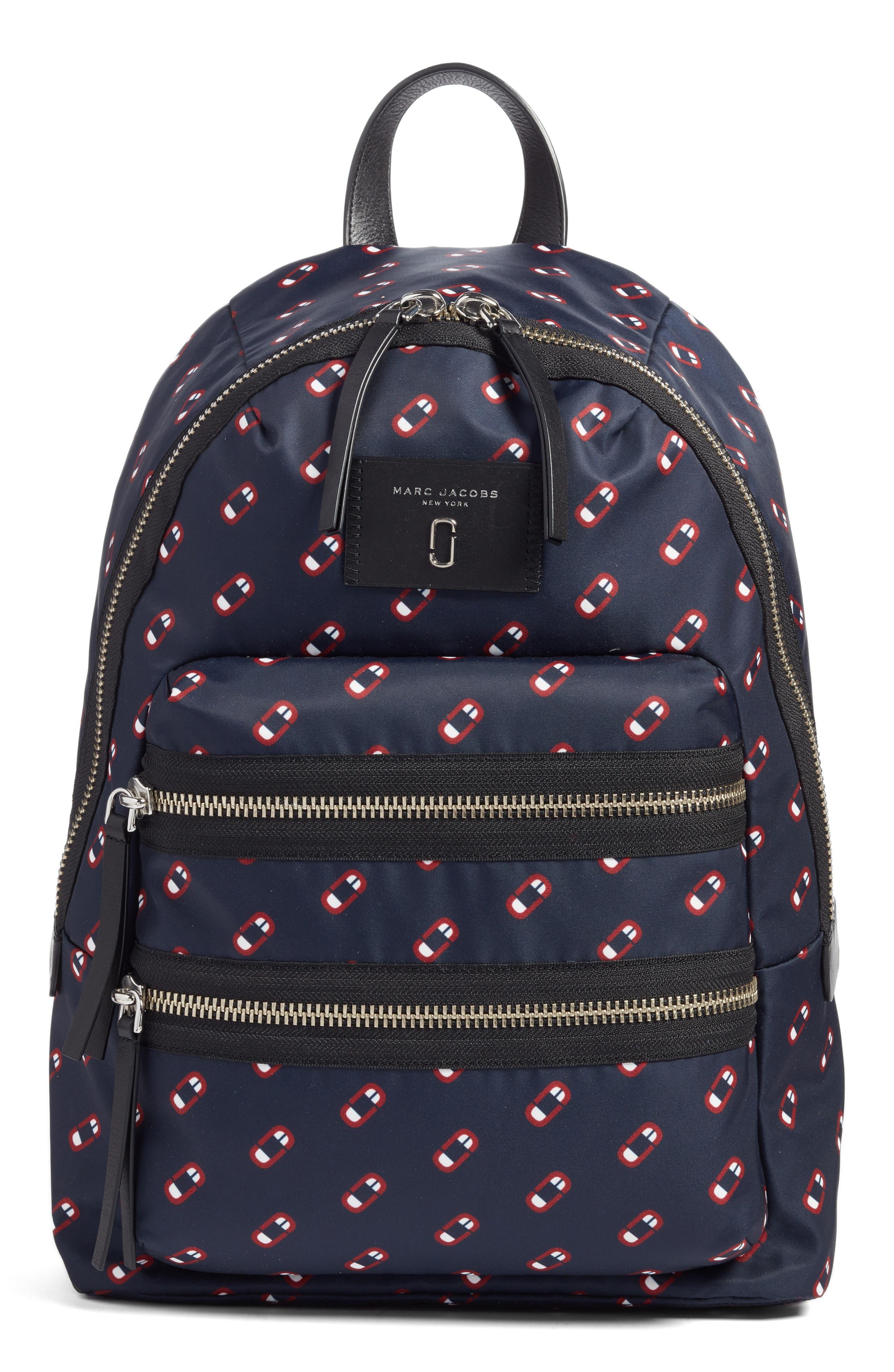 Logo Scream Biker Backpack,                         Main,                         color, 411