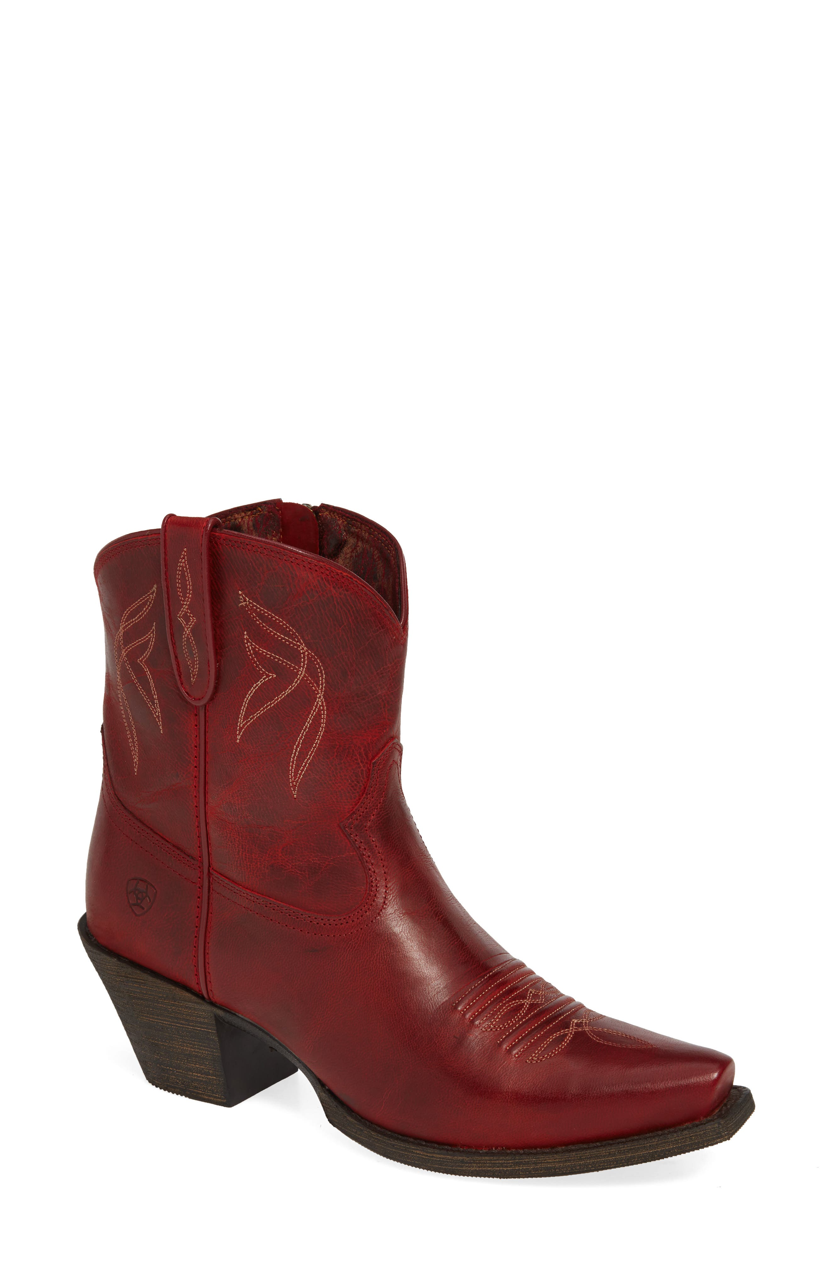Ariat Lovely Western Boot, Red